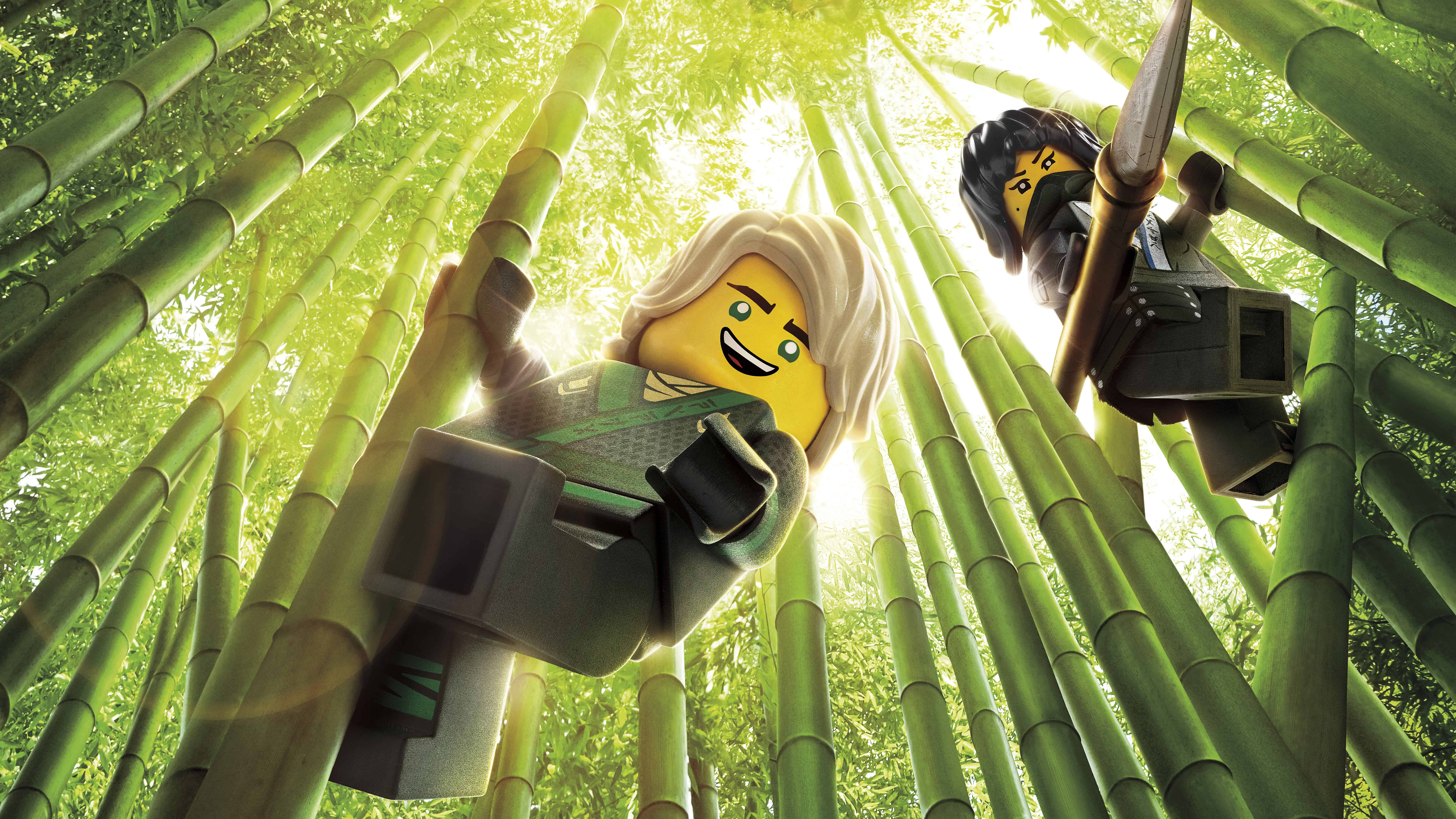 the lego ninjago movie nya lloyd uhd 8k wallpaper