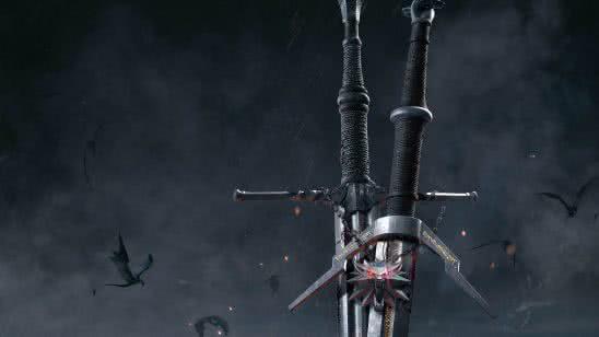 the witcher 3 wild hunt swords uhd 8k wallpaper