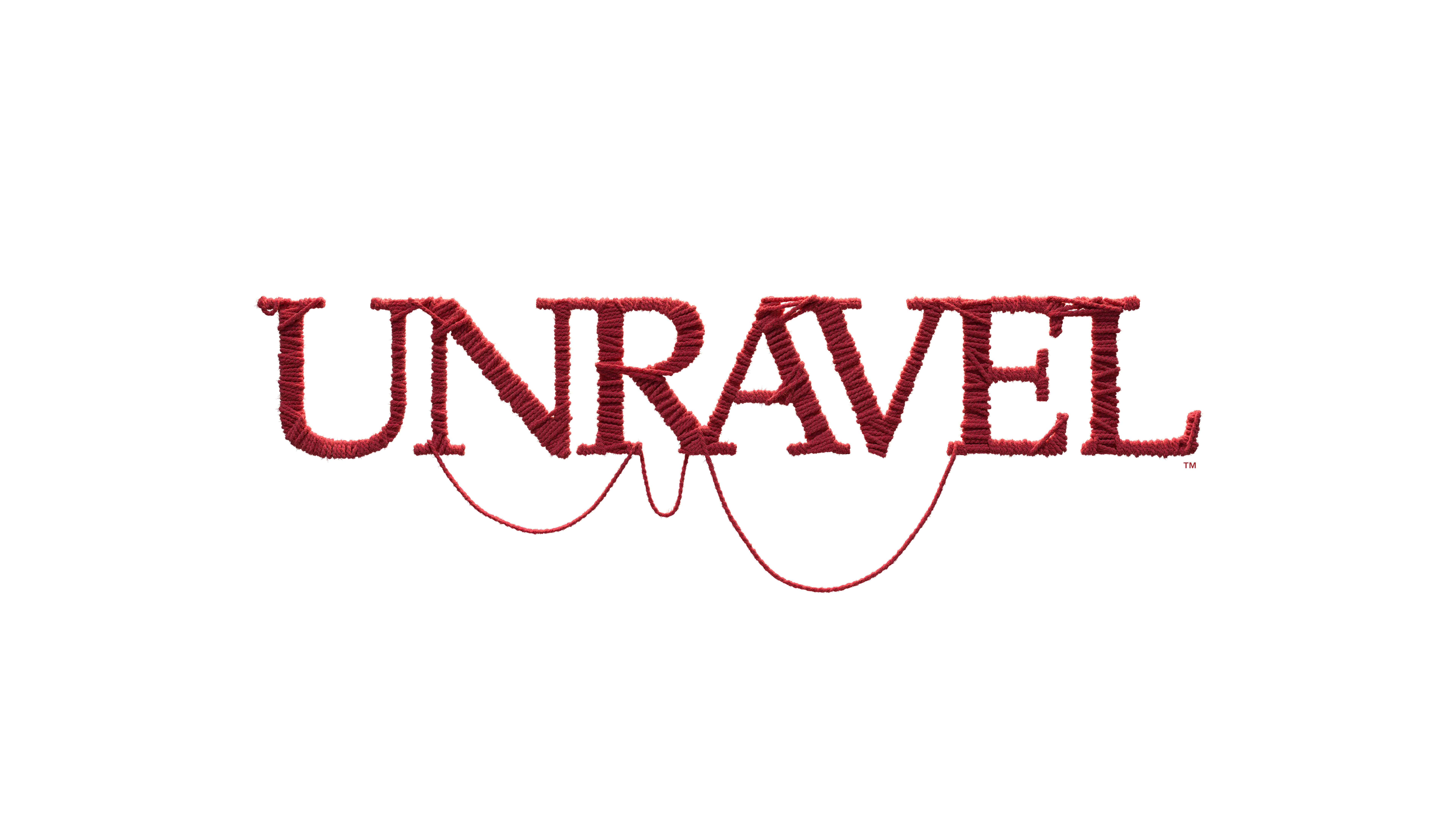 unravel logo uhd 8k wallpaper