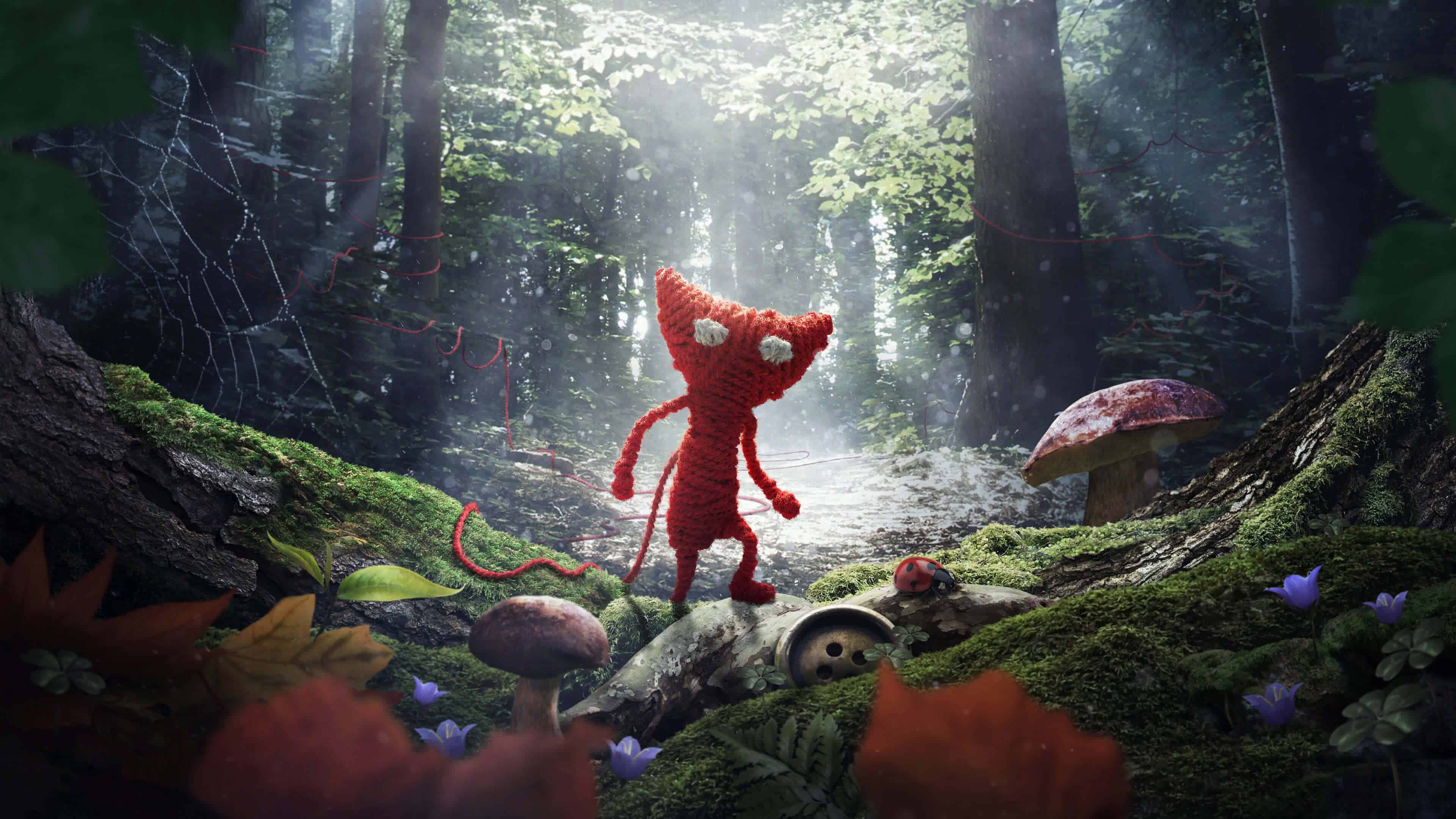 unravel yarny uhd 4k wallpaper