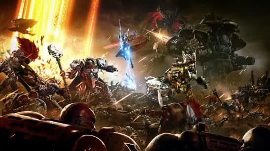 warhammer 40k dawn of war iii uhd 8k wallpaper