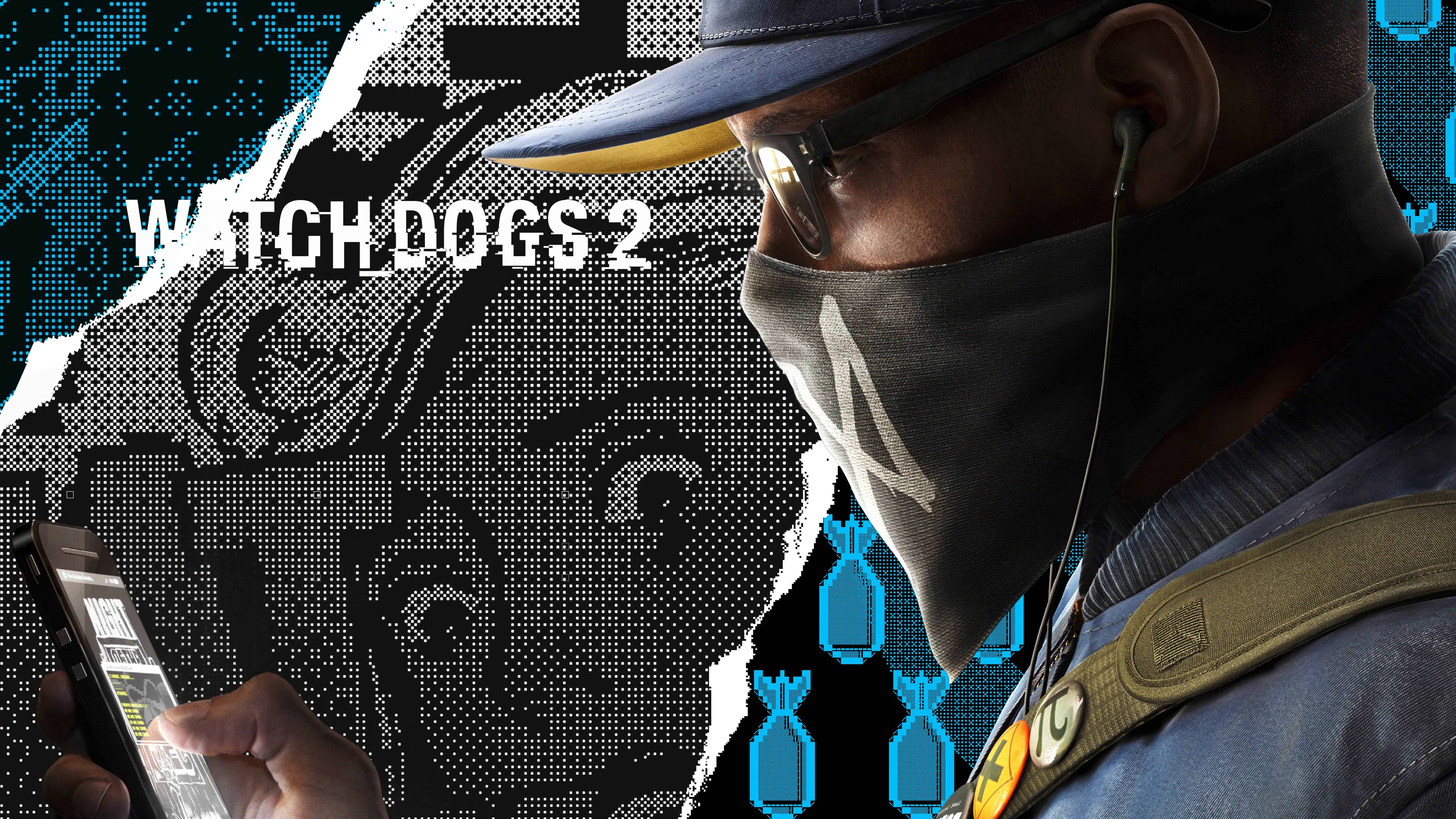 watch dogs 2 deluxe edition uhd 8k wallpaper