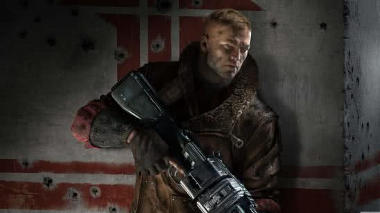 wolfenstein the new order blazkowicz uhd 8k wallpaper