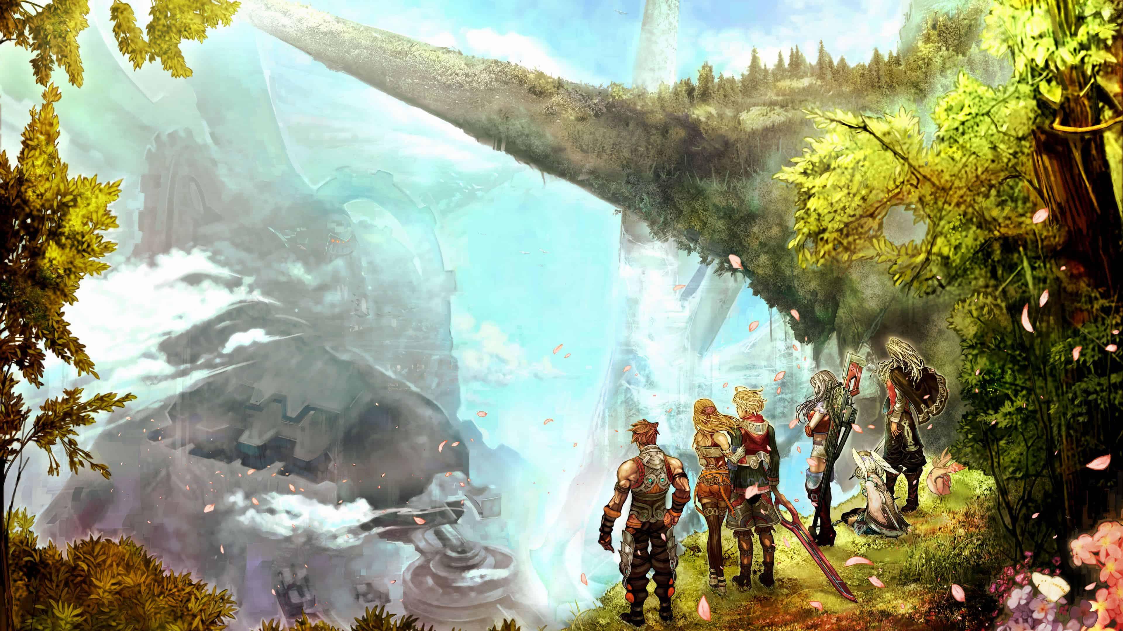Xenoblade Chronicles UHD 4K Wallpaper