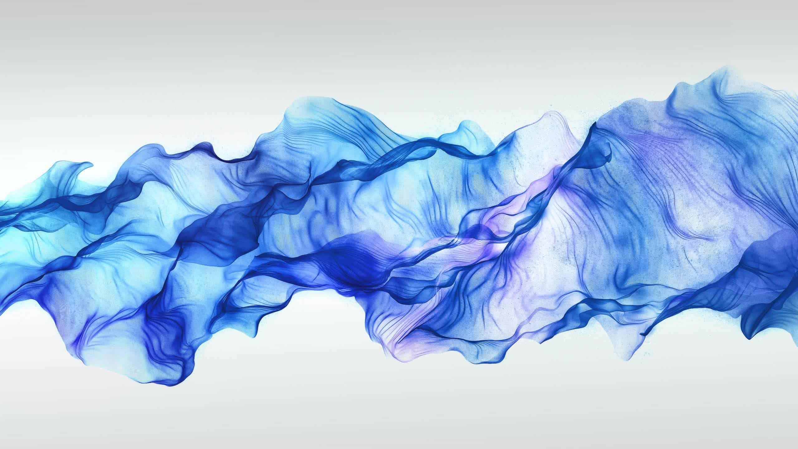abstract blue smoke wqhd 1440p wallpaper