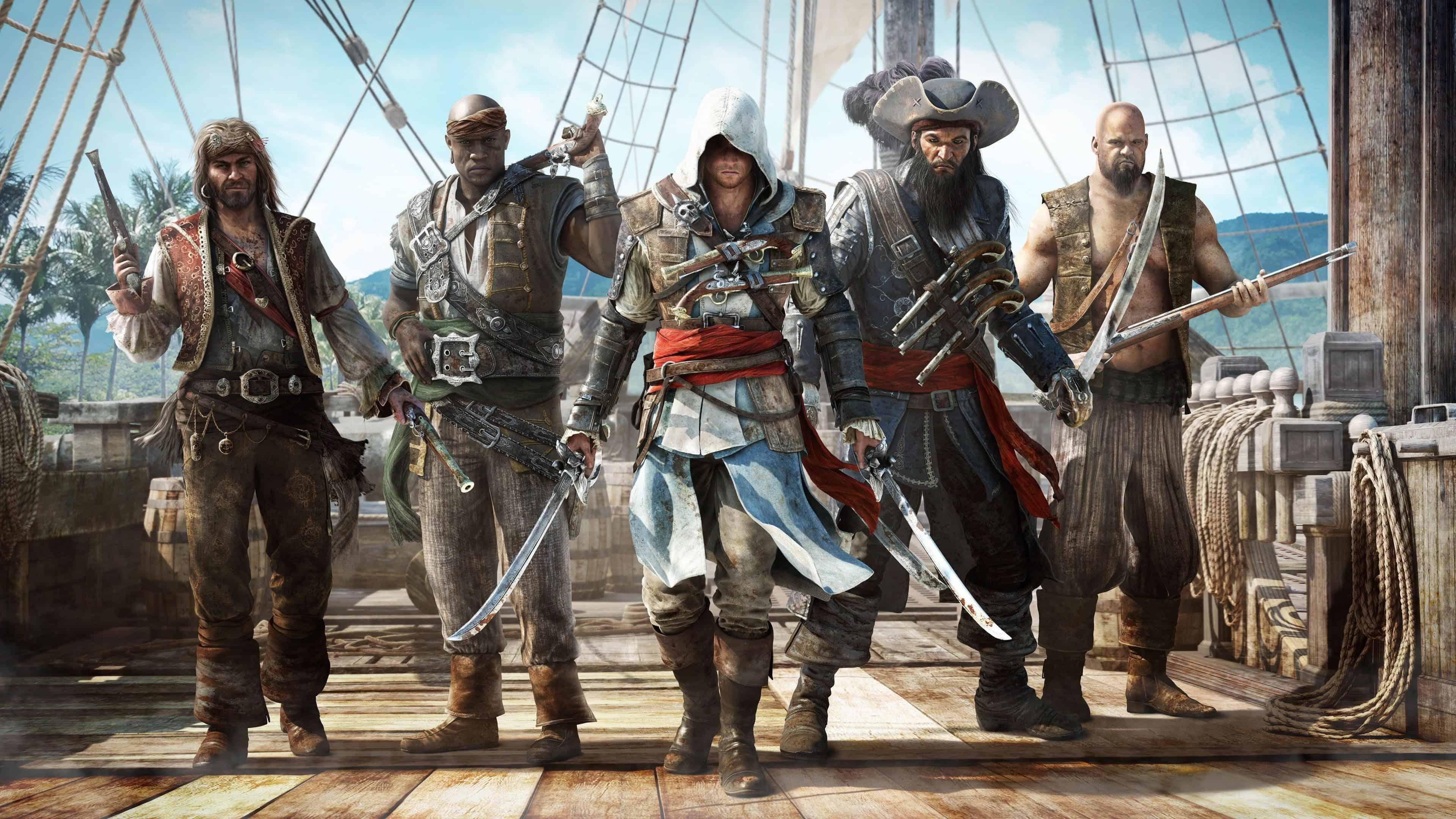 assassins creed 4 black flag uhd 4k wallpaper