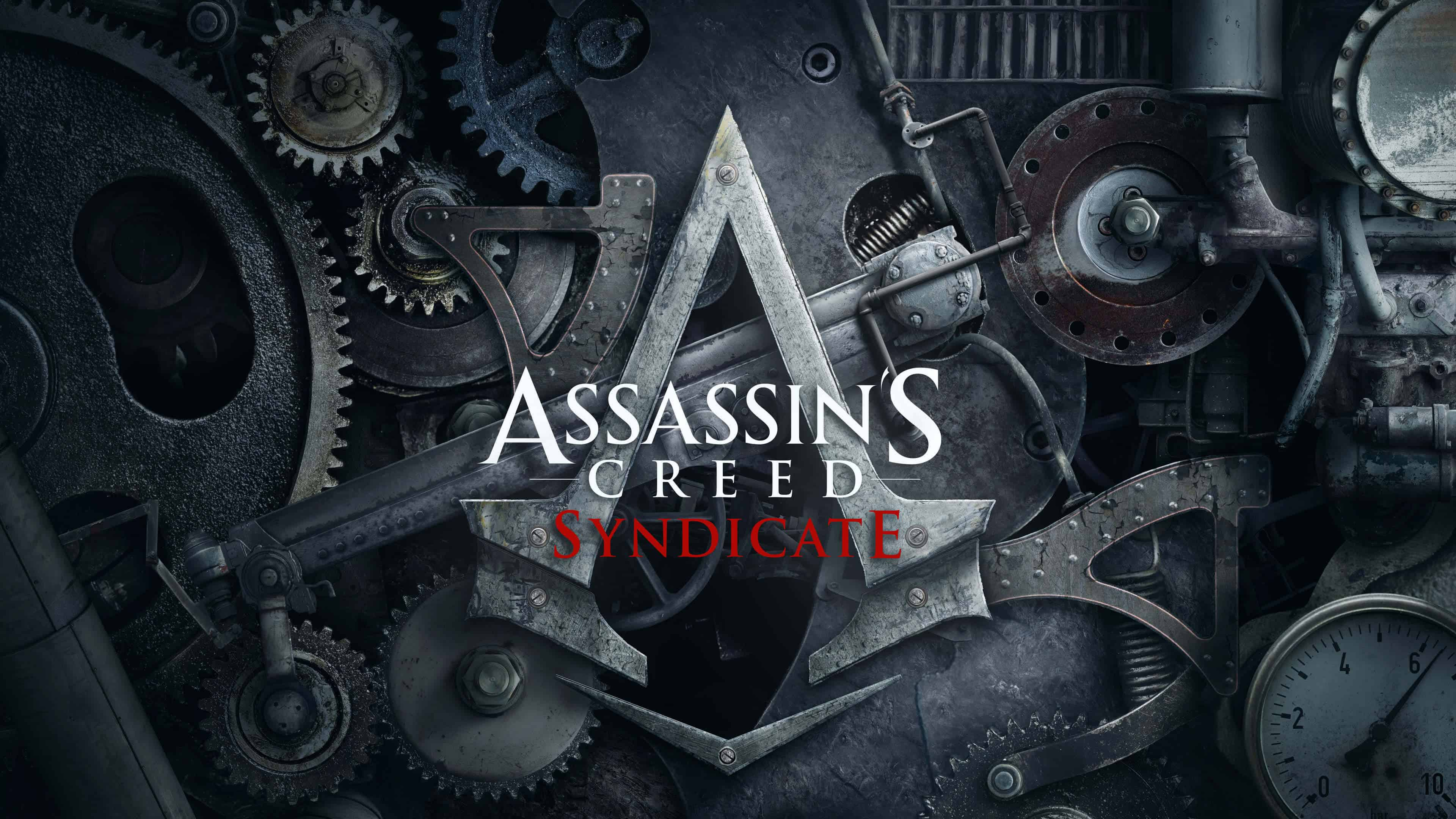 Assassins Creed Syndicate Logo Uhd 4k Wallpaper Pixelz Cc