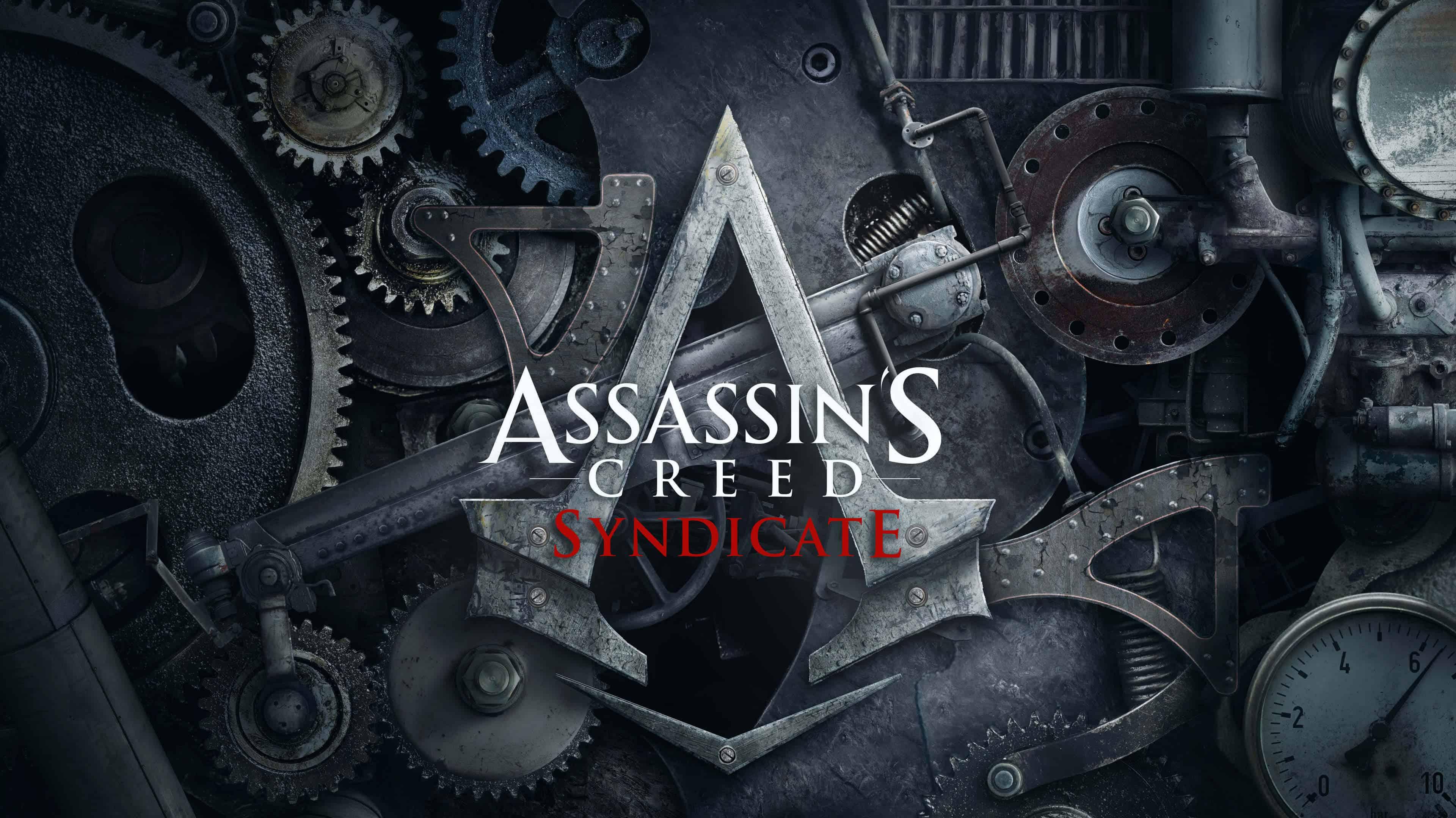 assassins creed syndicate logo uhd 4k wallpaper