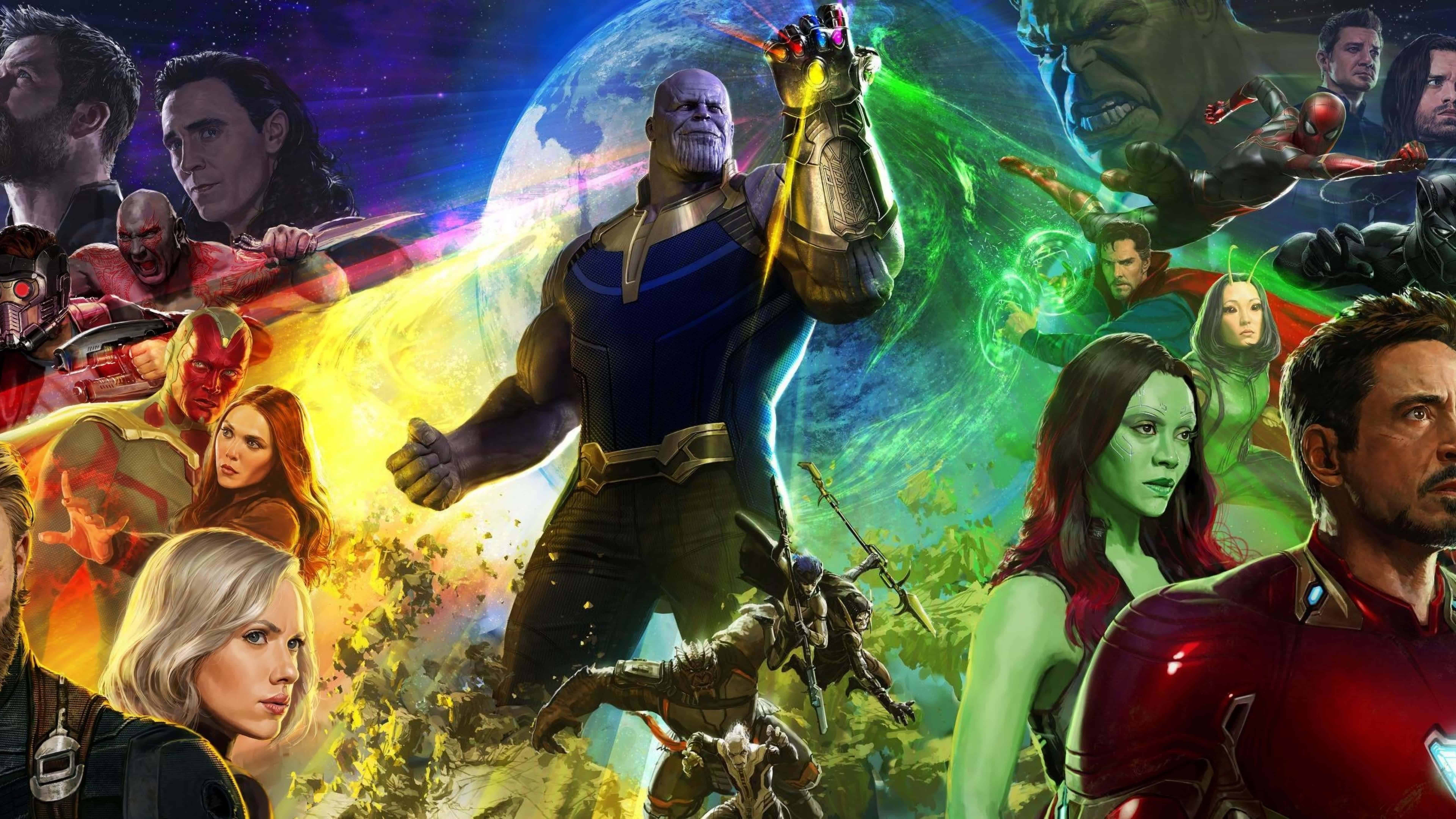 avengers infinity war 2018 uhd 8k wallpaper
