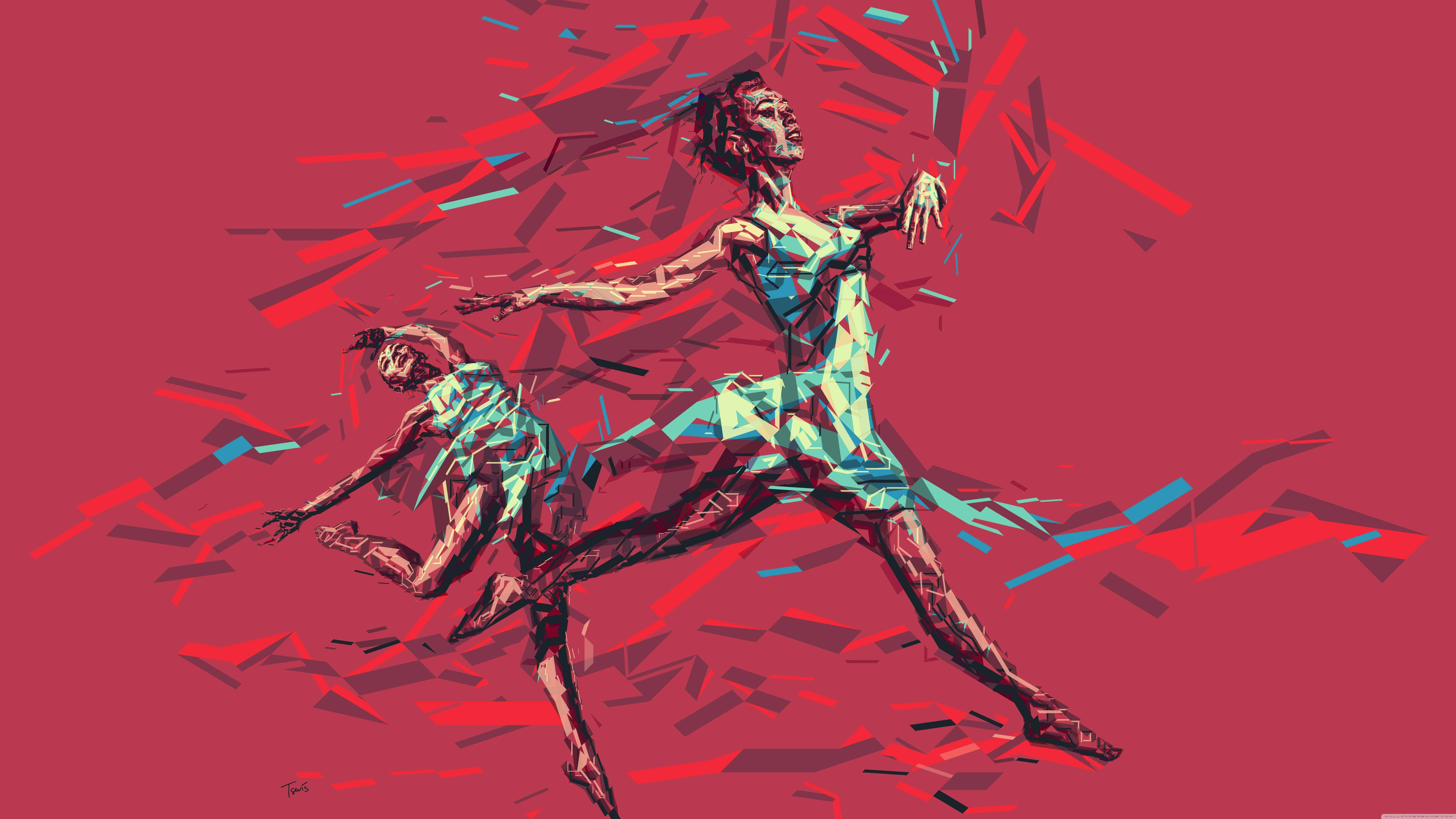 ballerina dancing uhd 8k wallpaper