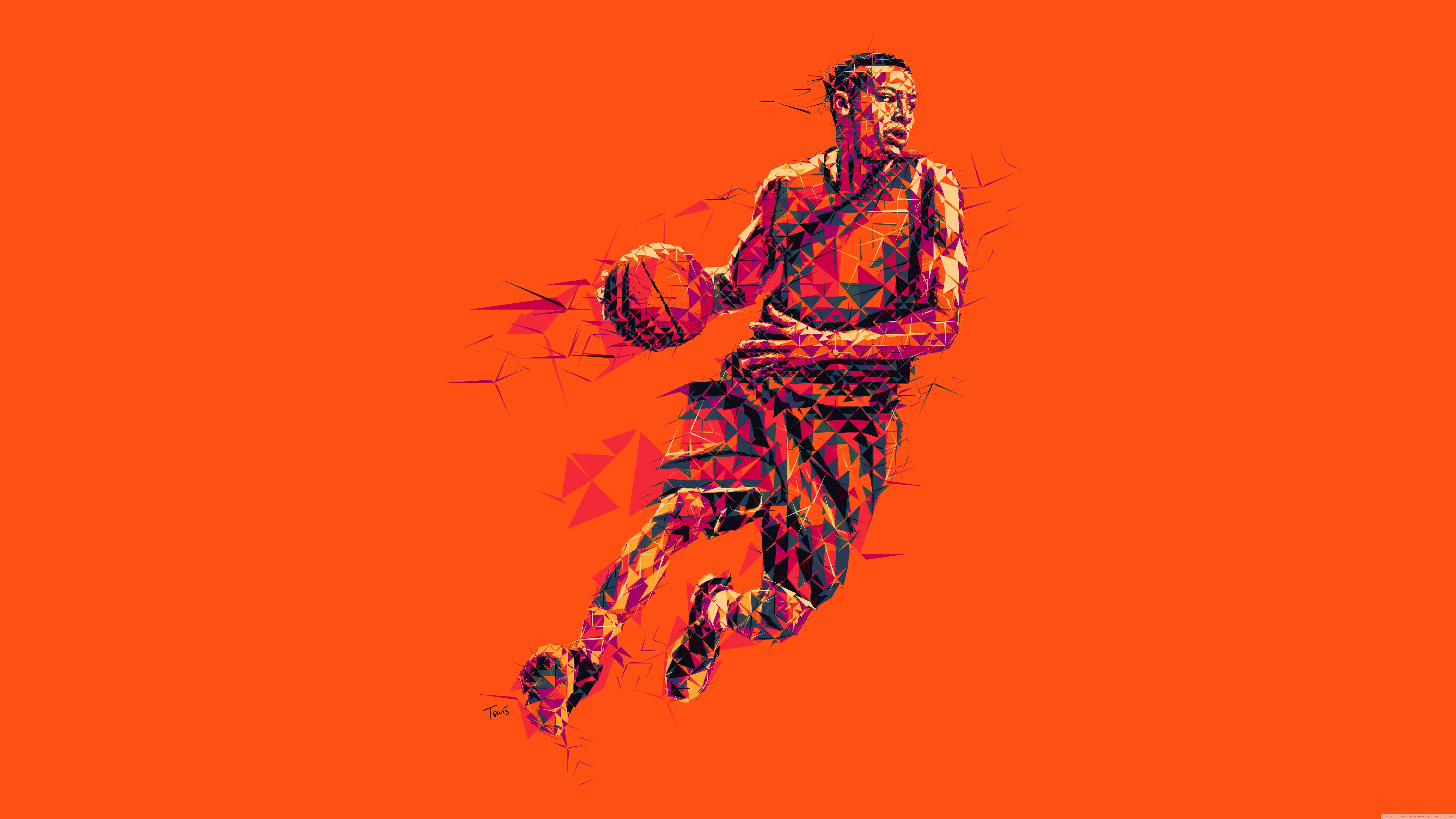 basketball player uhd 8k wallpaper
