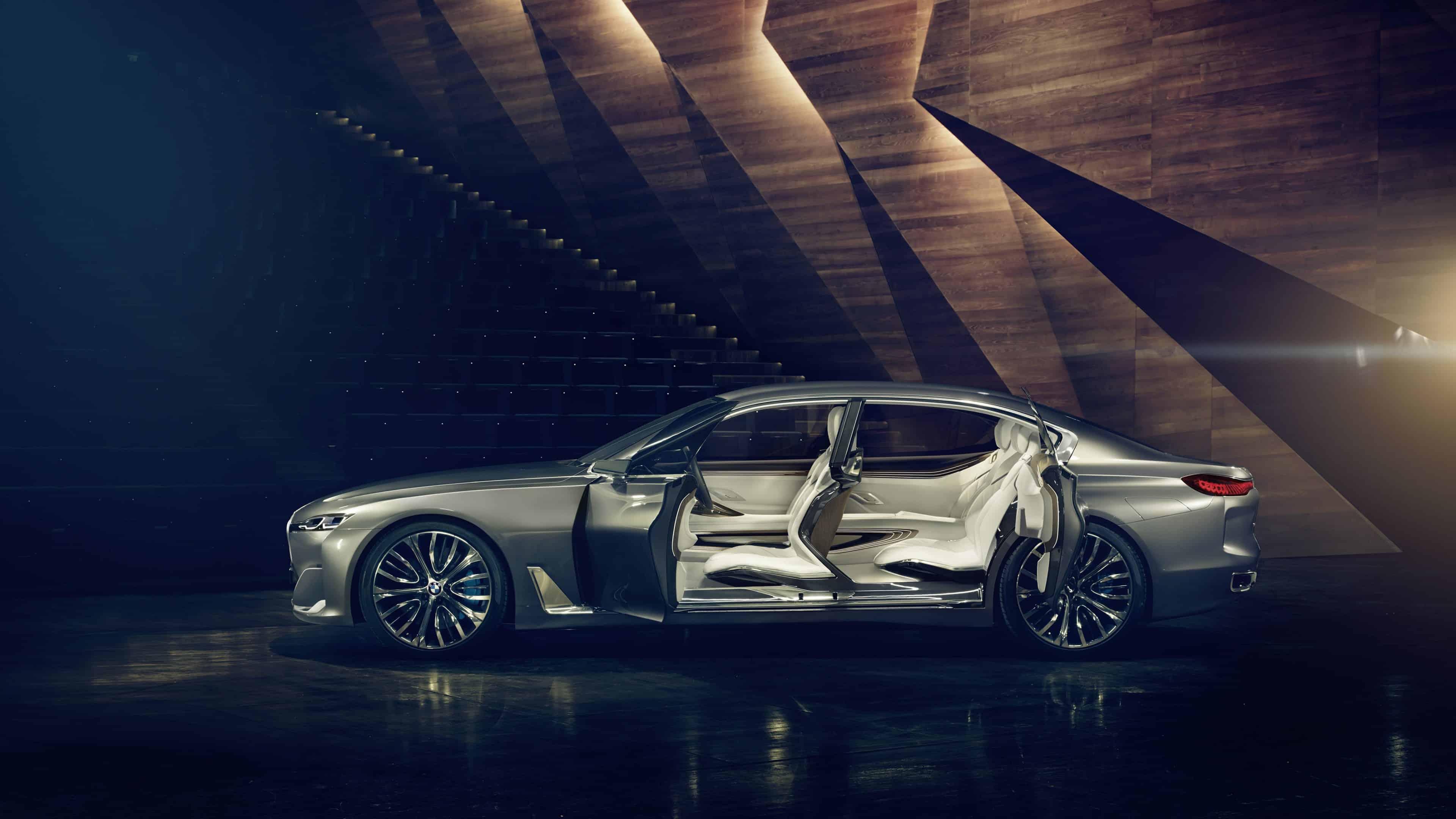 bmw pininfarina gran lusso coupe concept uhd 4k wallpaper
