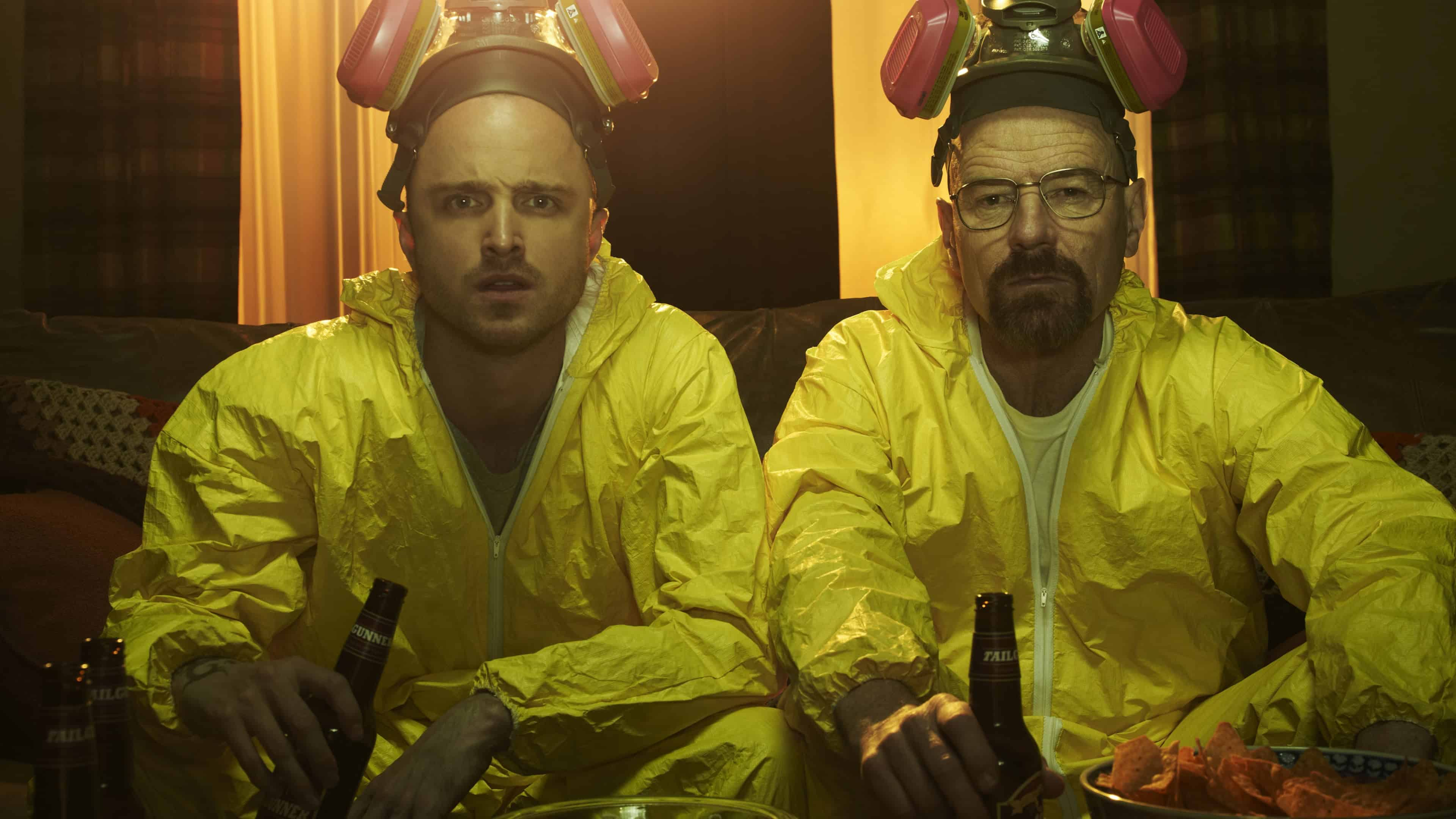 Breaking Bad Walter White And Jesse Pinkman Cooking Uhd 4k Wallpaper