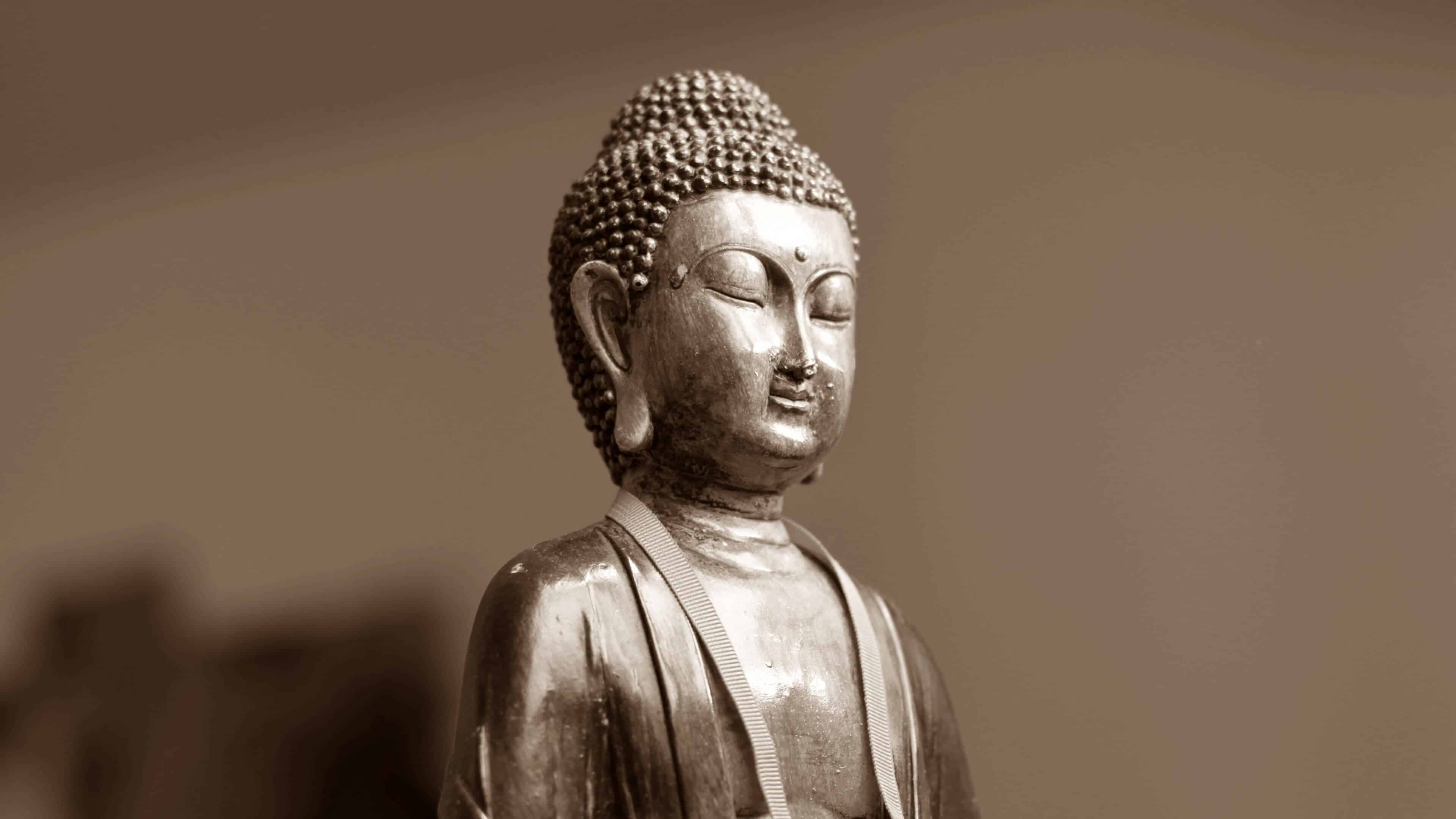 buddha statue uhd 4k wallpaper