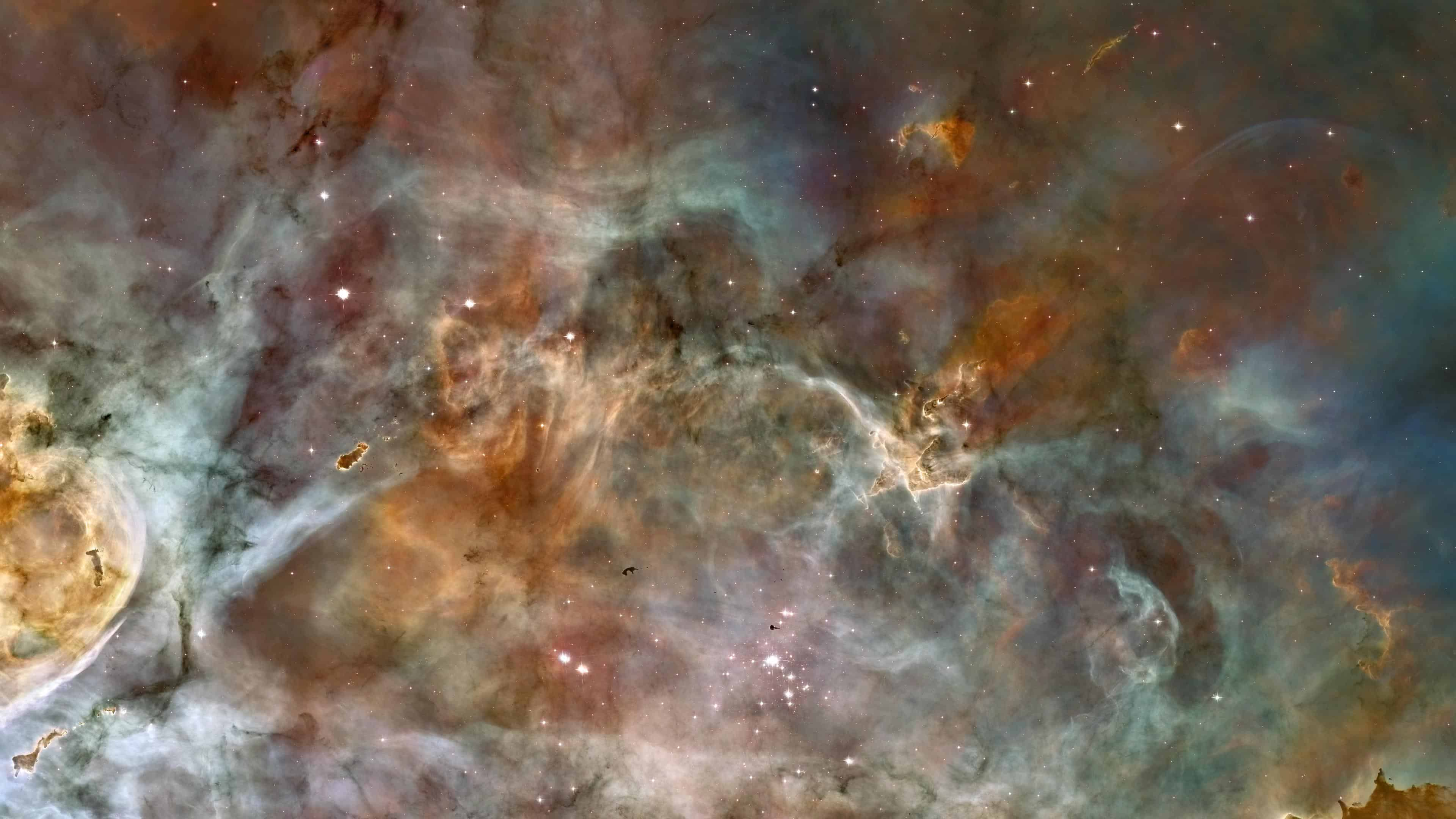carina nebula mystic mountain uhd 4k wallpaper