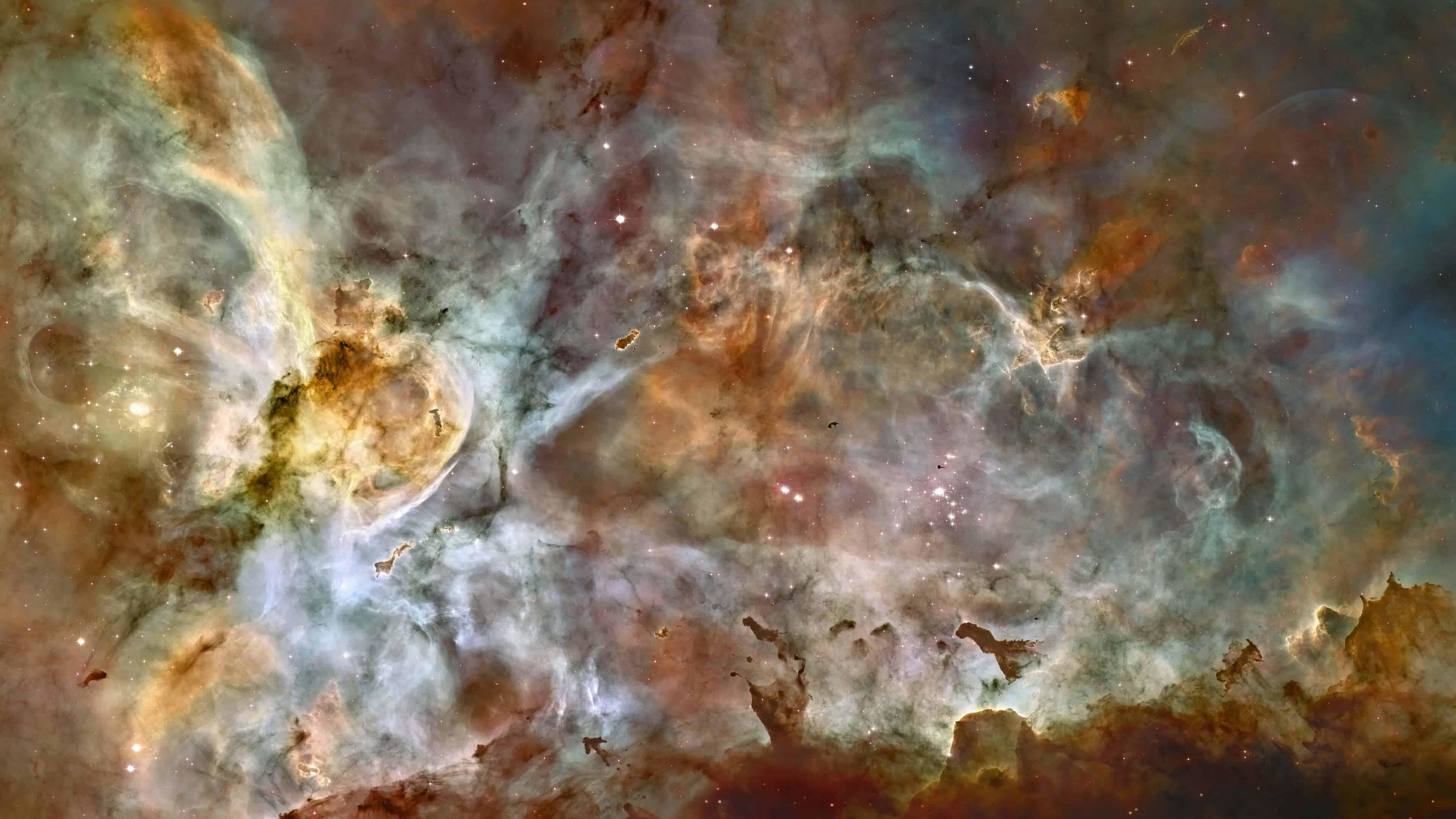 carina nebula uhd 4k wallpaper