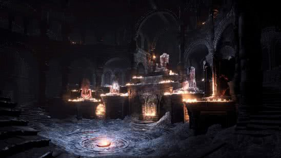 dark souls 3 firelink shrine uhd 4k wallpaper