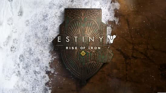 destiny rise of iron expansion logo uhd 8k wallpaper