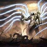 diablo 3 tyrael wqhd 1440p wallpaper