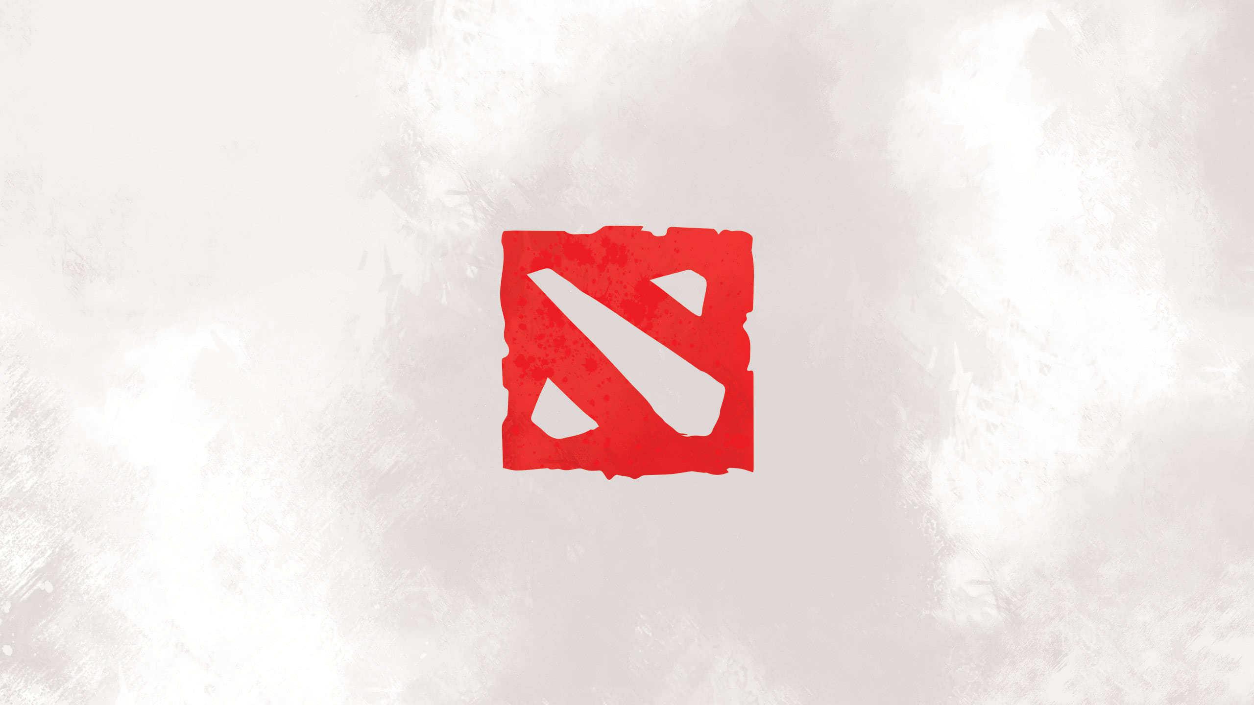 Dota 2 Logo Wqhd 1440p Wallpaper Pixelz