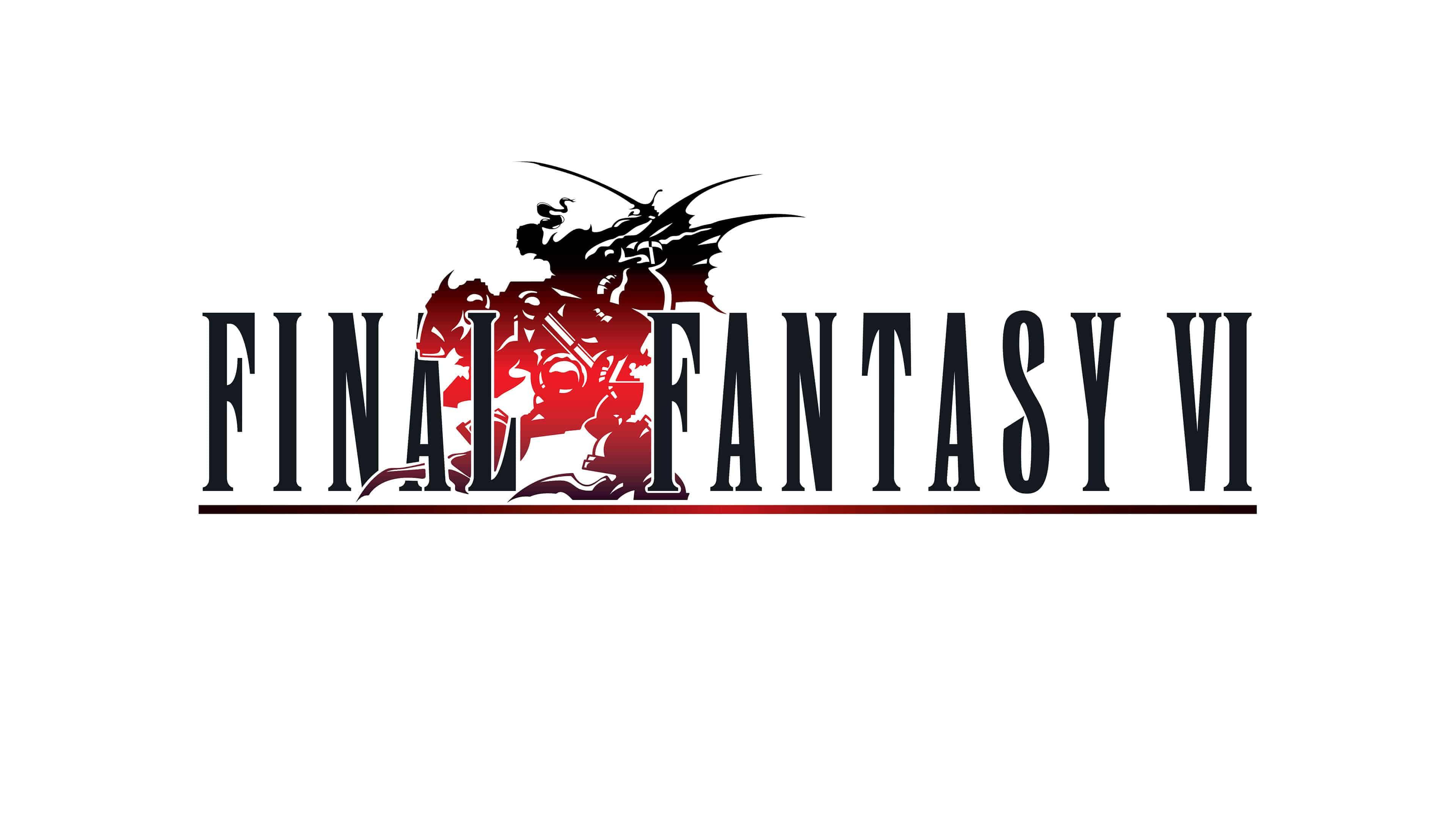 Final Fantasy Xv Logo Uhd 4k Wallpaper: Final Fantasy 6 Logo UHD 4K Wallpaper