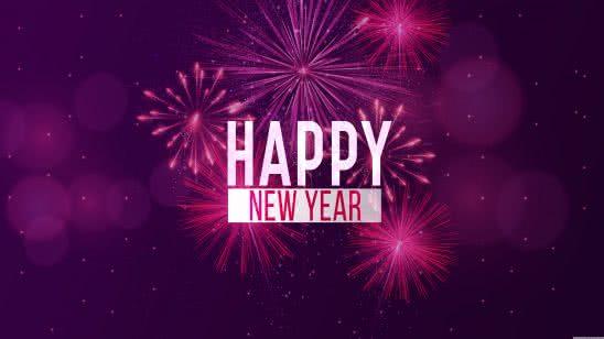 happy new year uhd 8k wallpaper