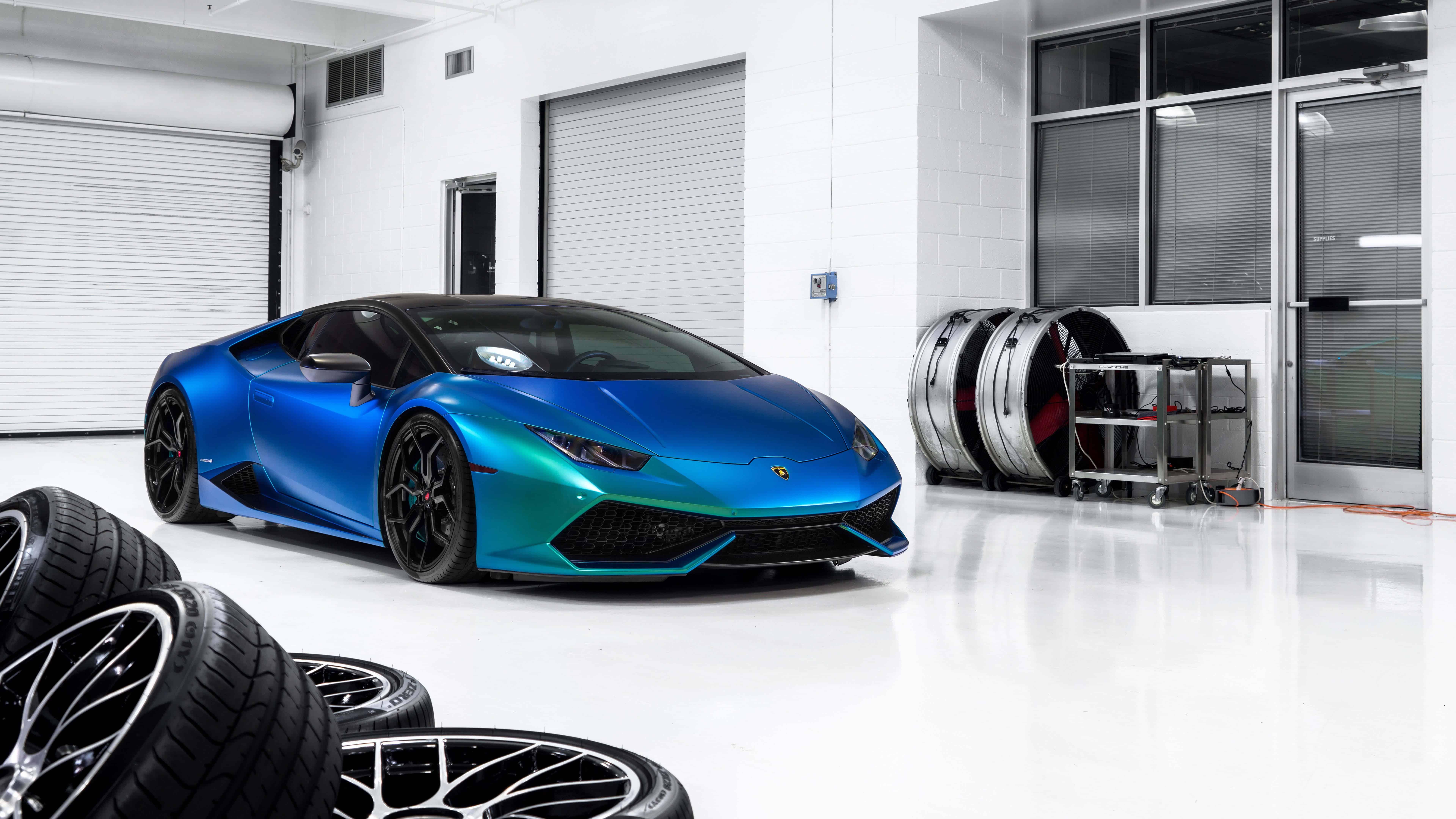 Lamborghini Huracan Blue Uhd 8k Wallpaper Pixelz