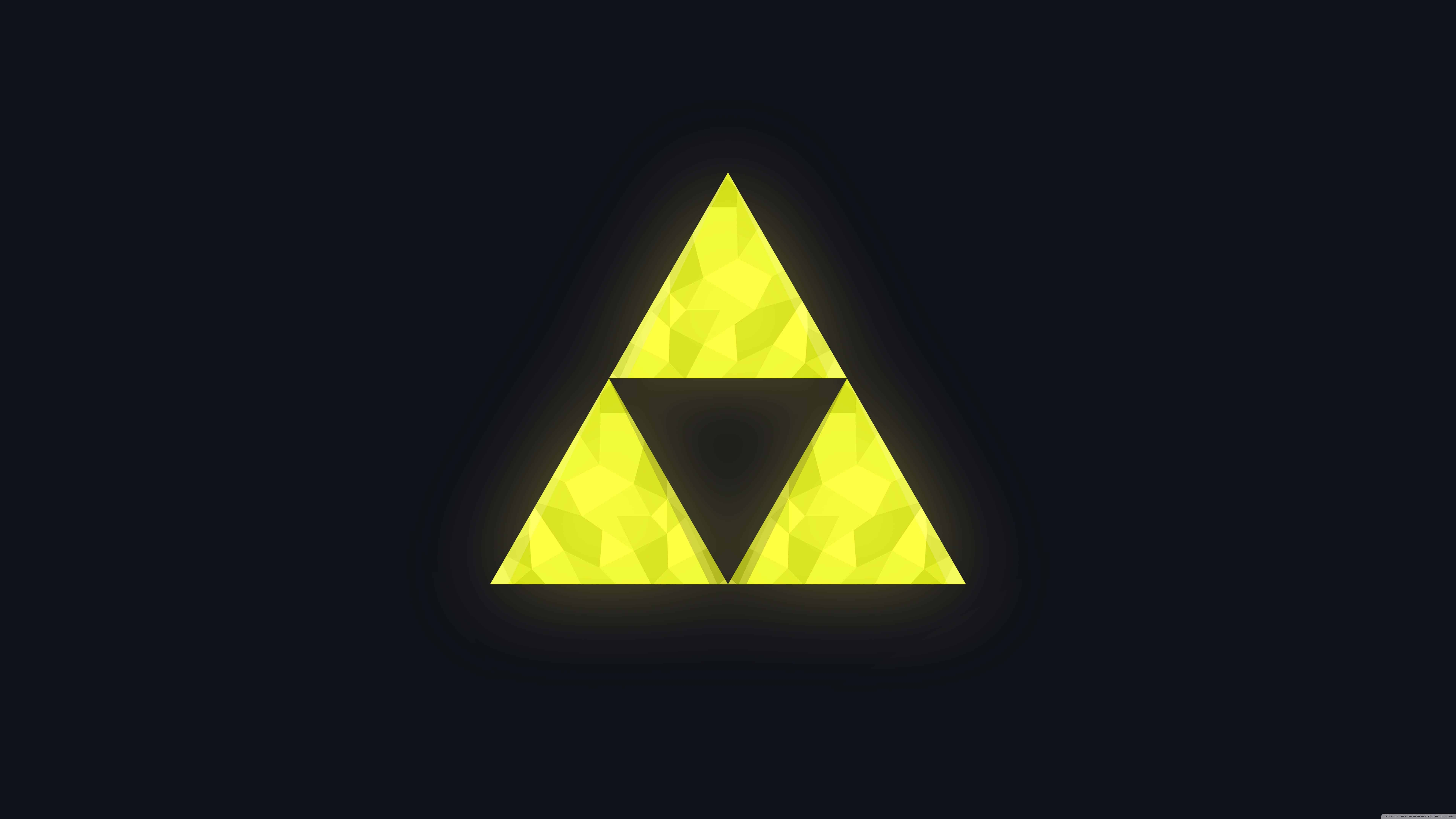 Legend Of Zelda Triforce Uhd 8k Wallpaper Pixelz