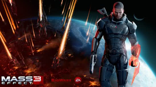 mass effect 3 commander shepard uhd 8k wallpaper