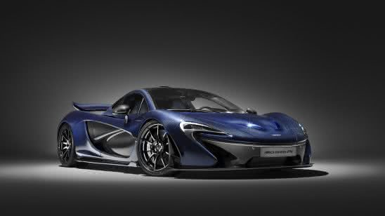mclaren p1 blue uhd 4k wallpaper