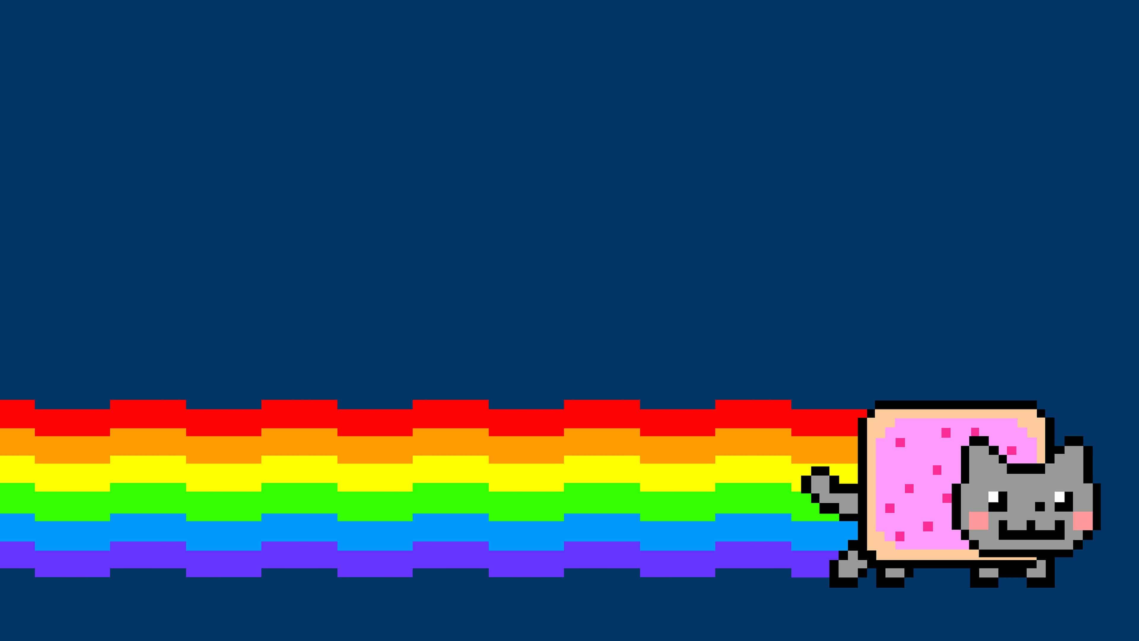 Nyan Cat UHD 4K Wallpaper