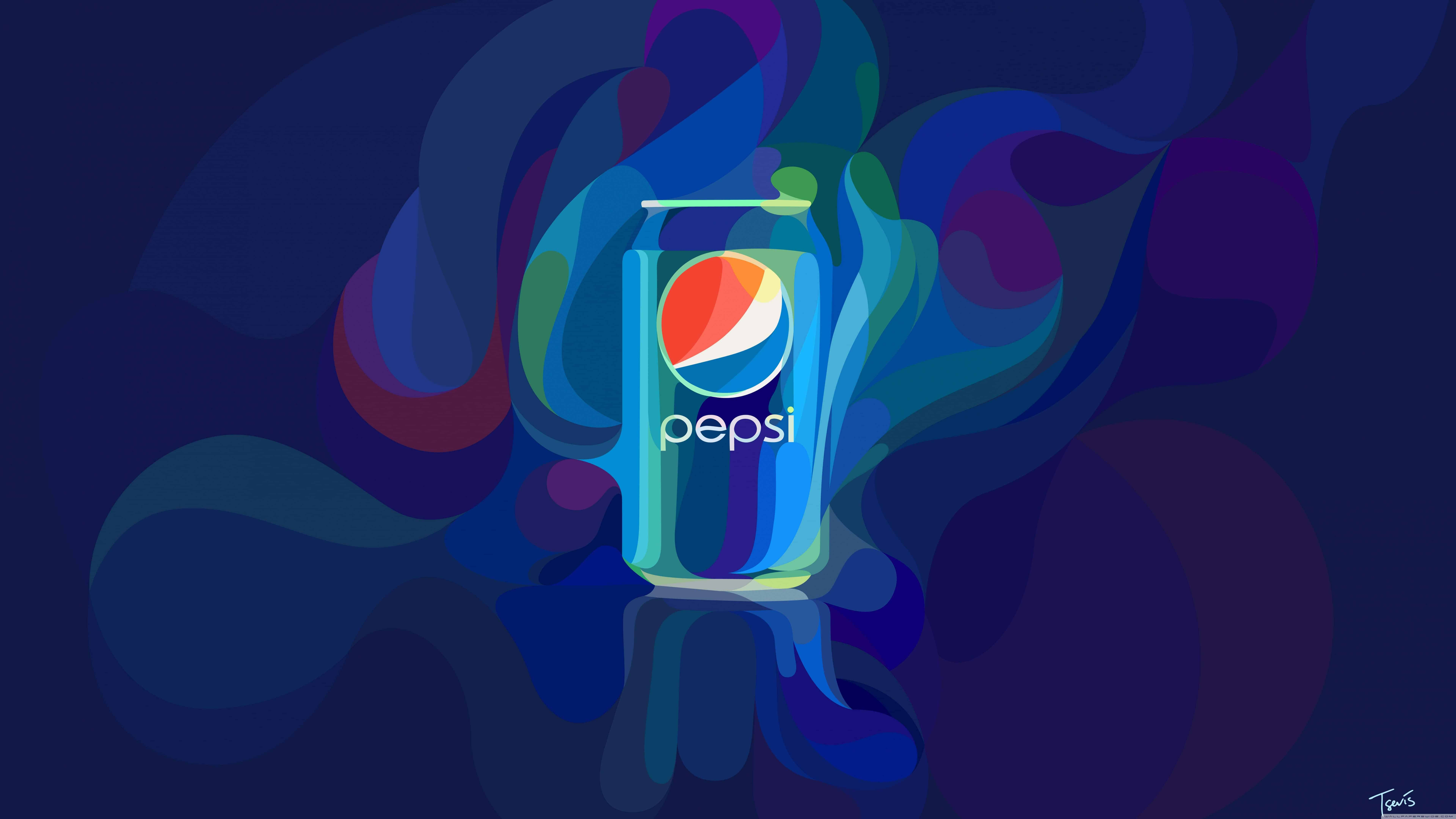 pepsi can design uhd 8k wallpaper