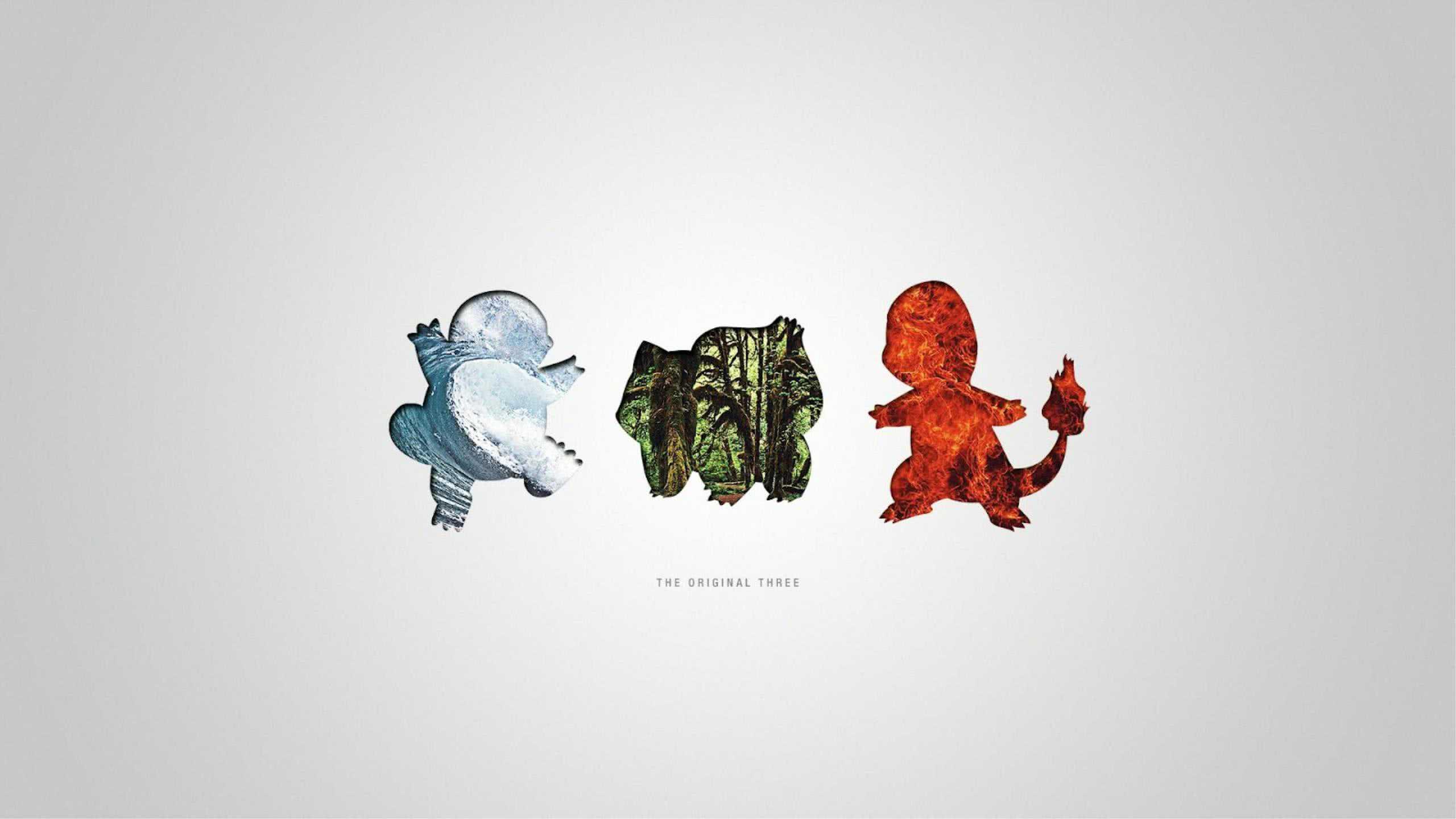 pokemon the original three wqhd 1440p wallpaper