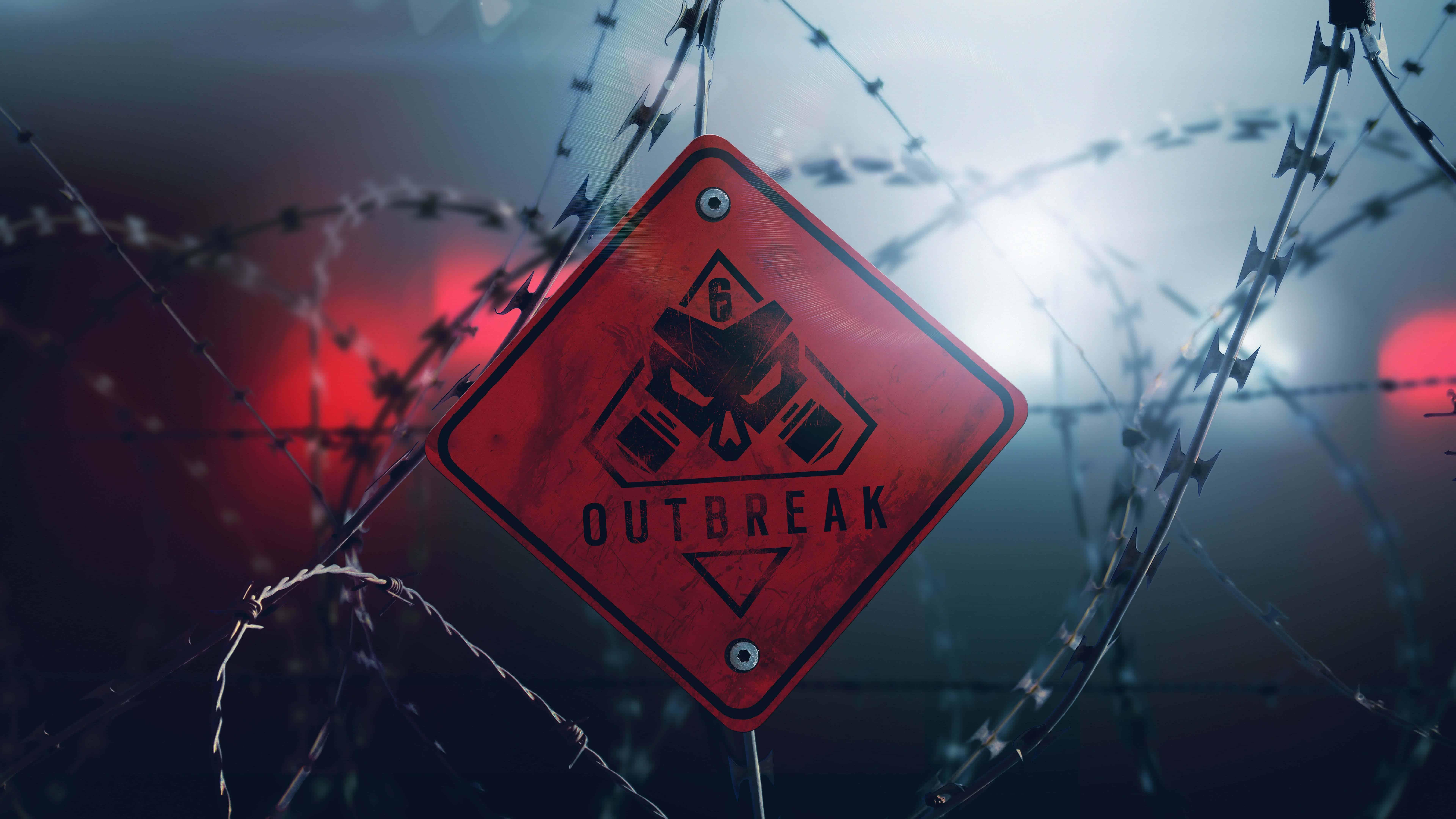 rainbow six siege outbreak uhd 8k wallpaper