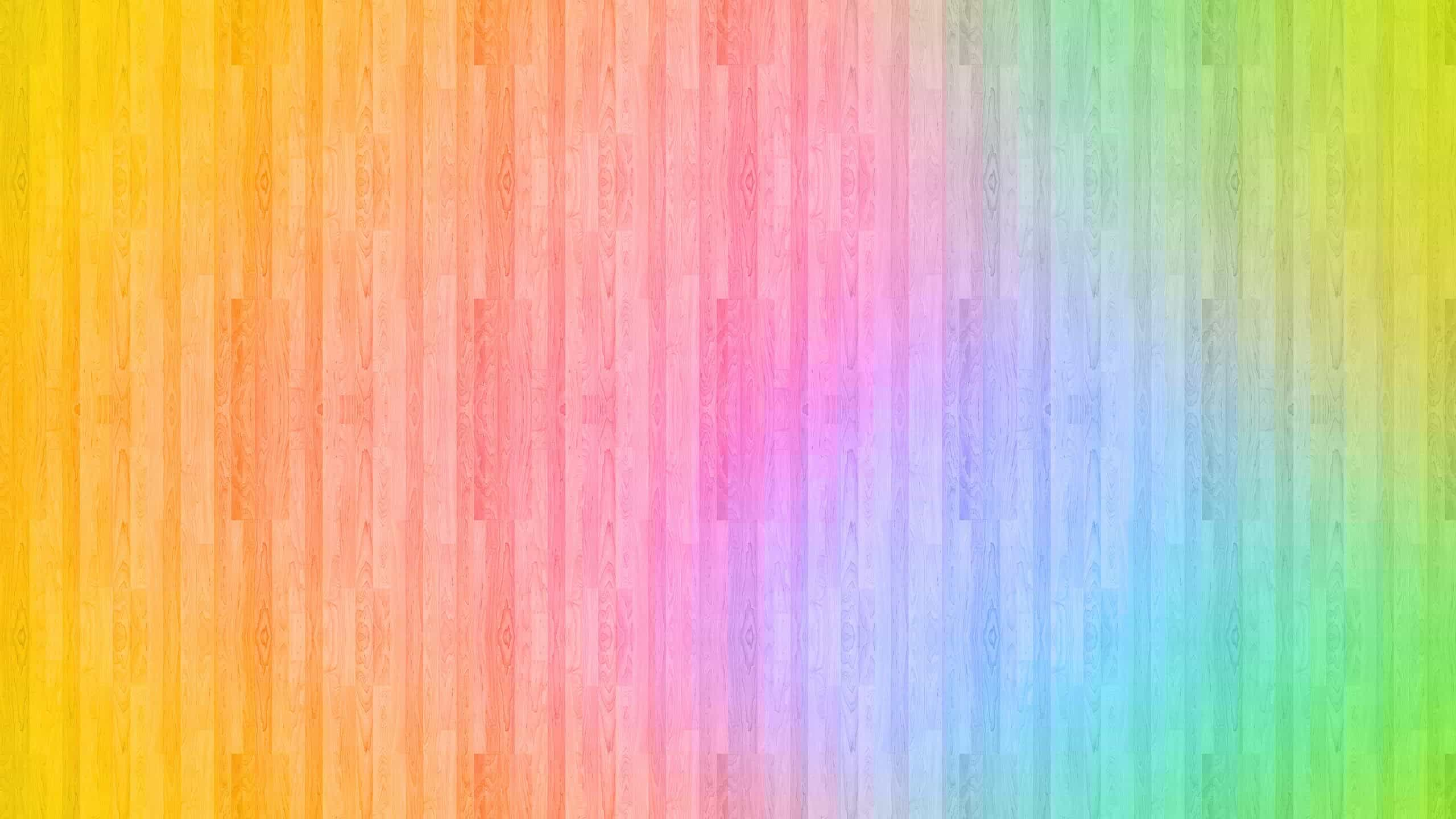 Hd Backgrounds Download >> Rainbow Wood WQHD 1440p Wallpaper | Pixelz