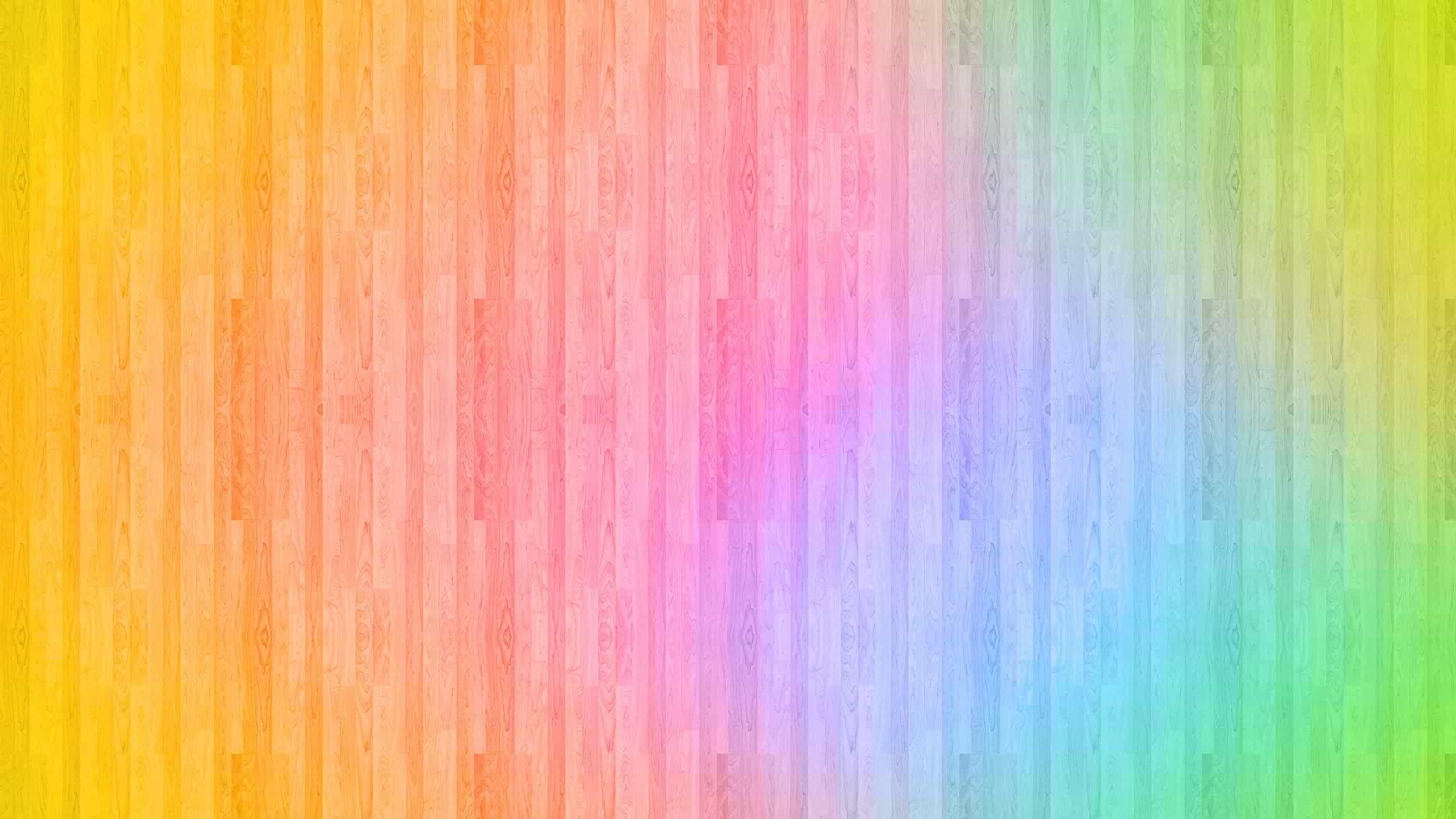 rainbow wood wqhd 1440p wallpaper