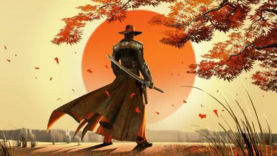 red steel 2 art wqhd 1440p wallpaper