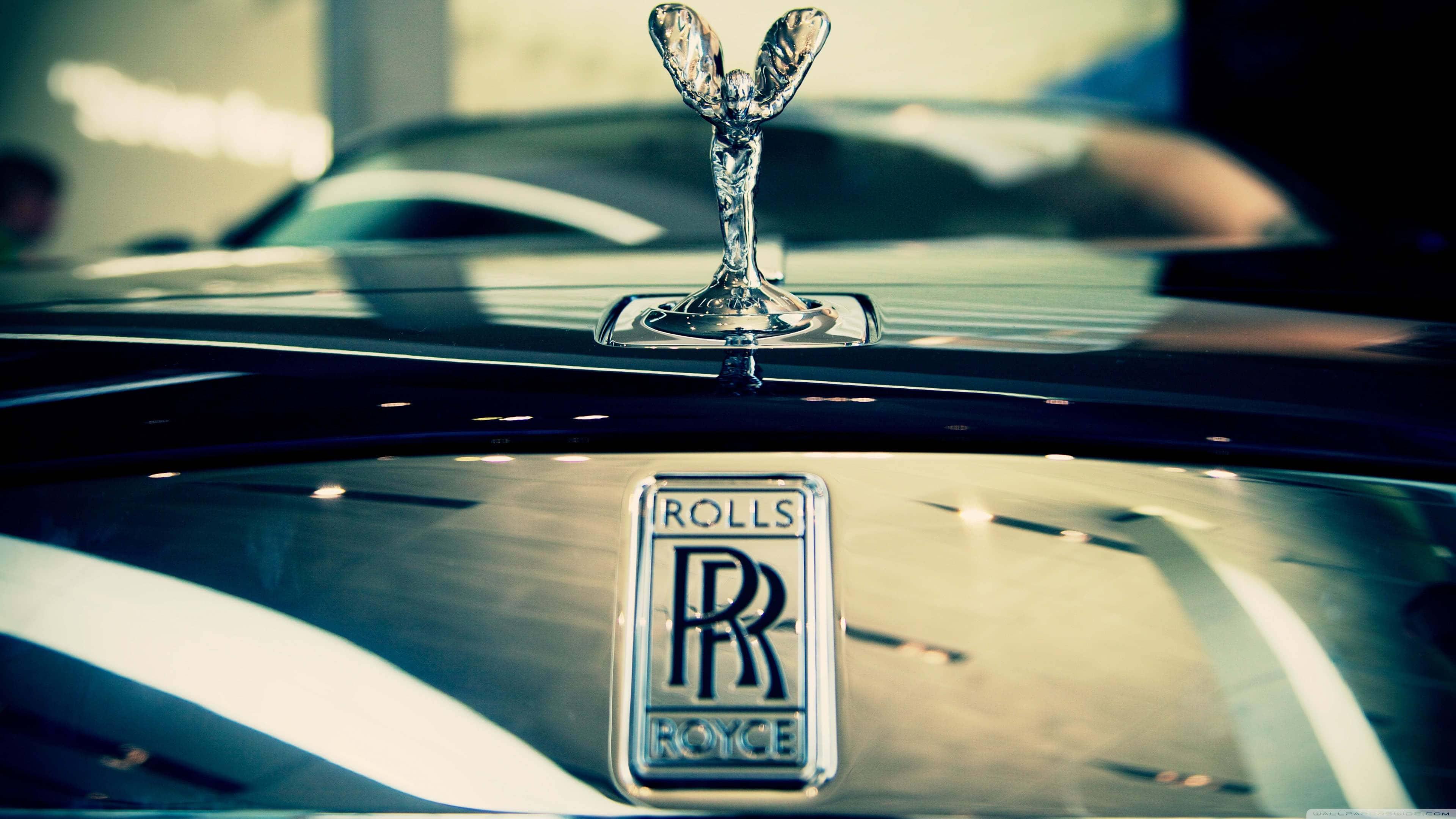 Rolls Royce Logo Uhd 4k Wallpaper Pixelz