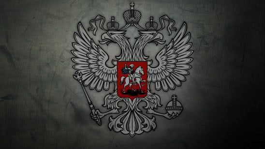 russian coat of arms uhd 4k wallpaper