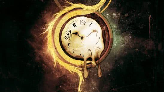 alvador dali clock wqhd 1440p wallpaper