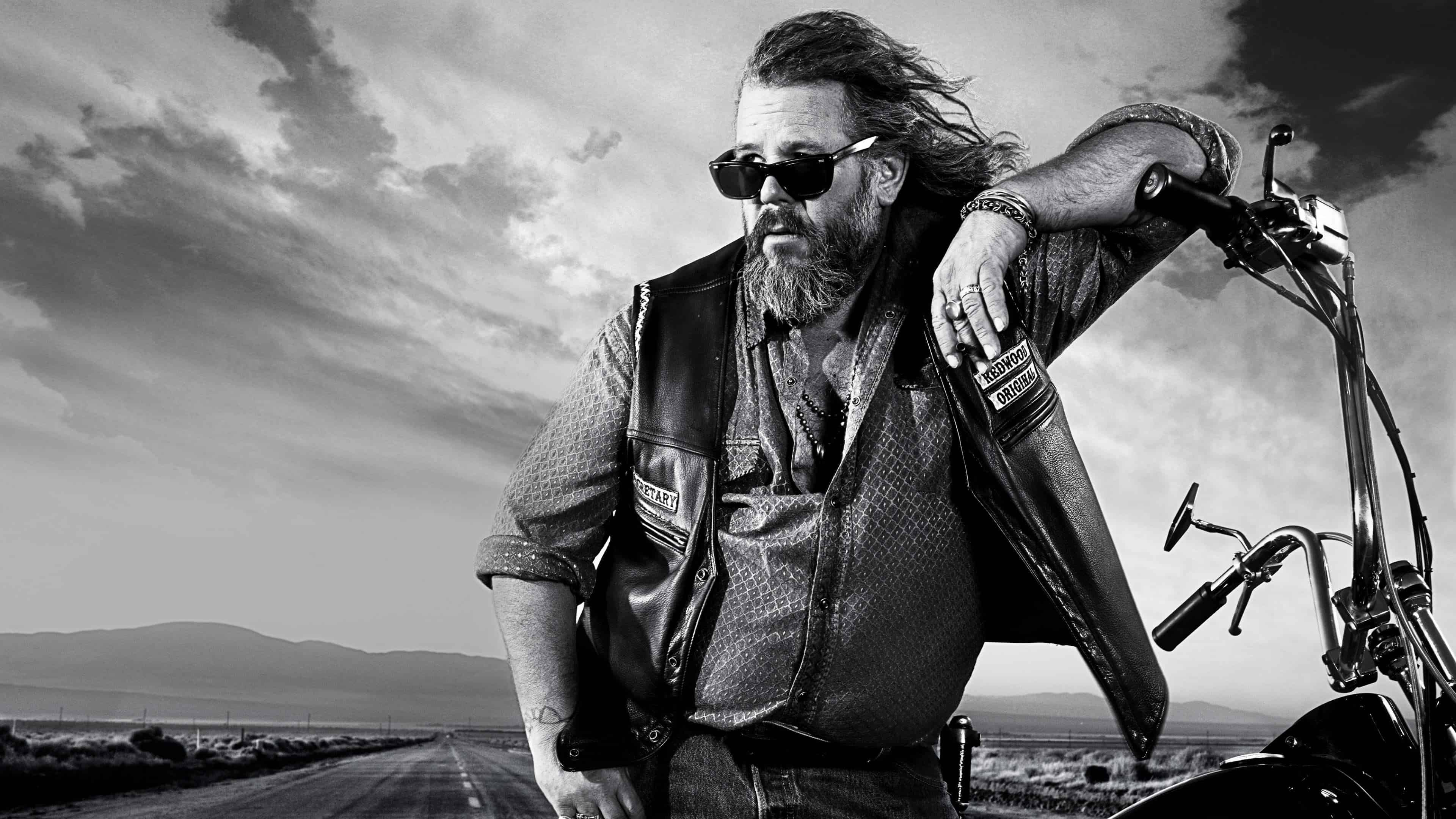 Sons Of Anarchy Bobby Munson Uhd 4k Wallpaper Pixelz