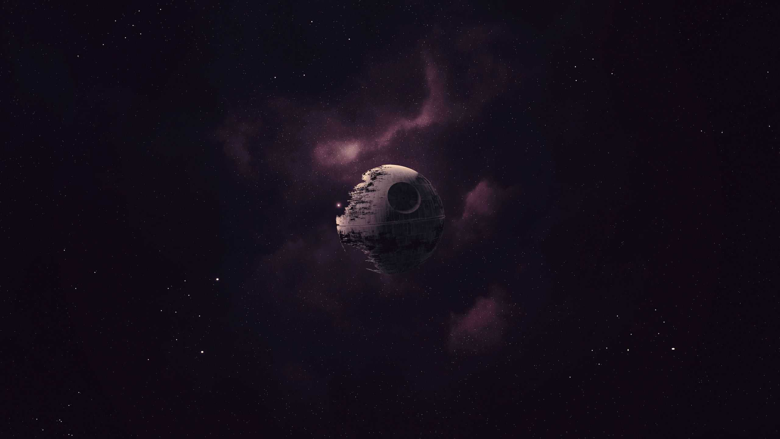 Star Wars Death Star Wqhd 1440p Wallpaper Pixelz