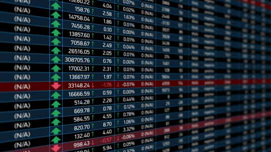 stock market electronic chart uhd 4k wallpaper