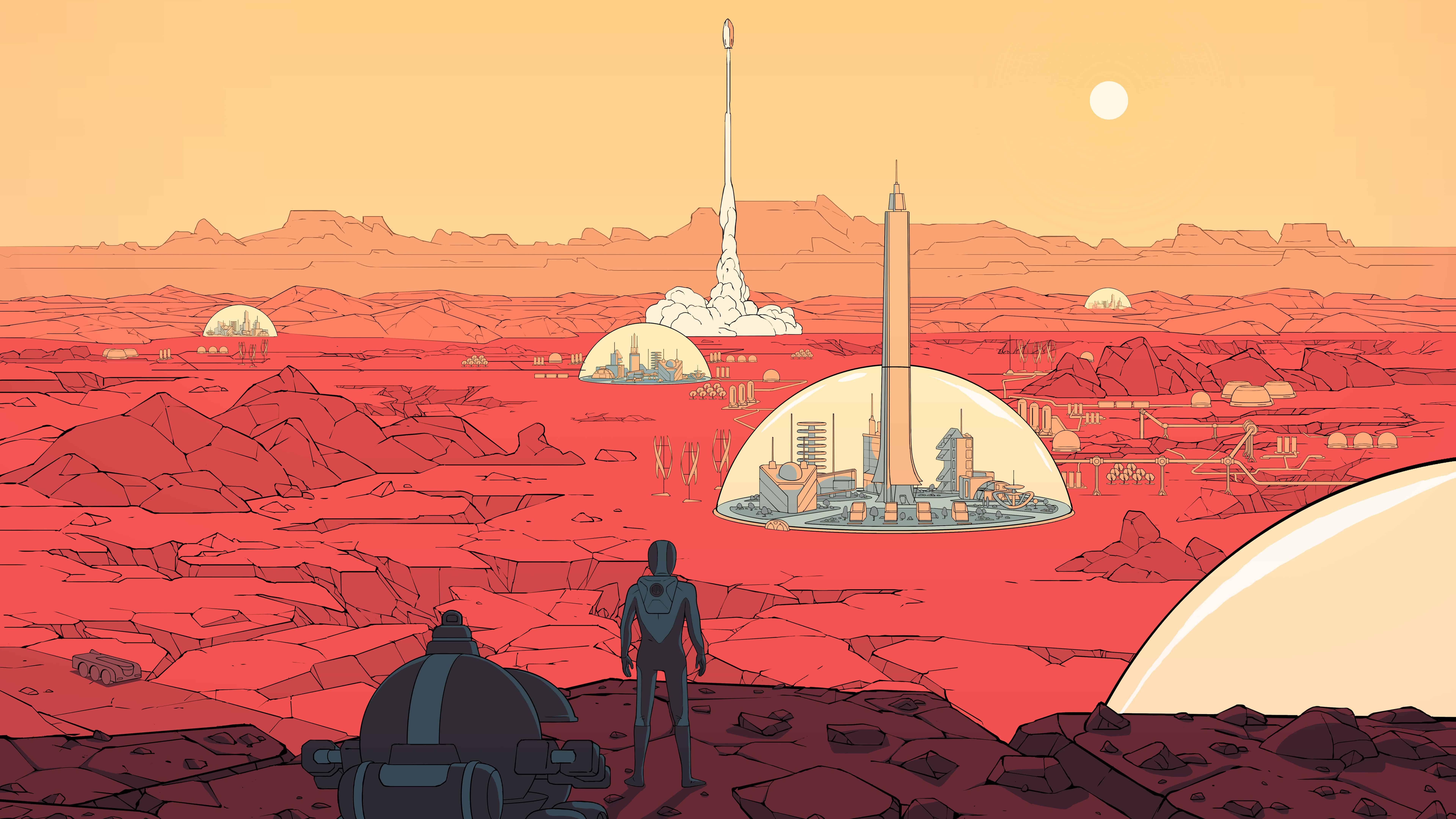 2017 Trucks >> Surviving Mars UHD 8K Wallpaper | Pixelz