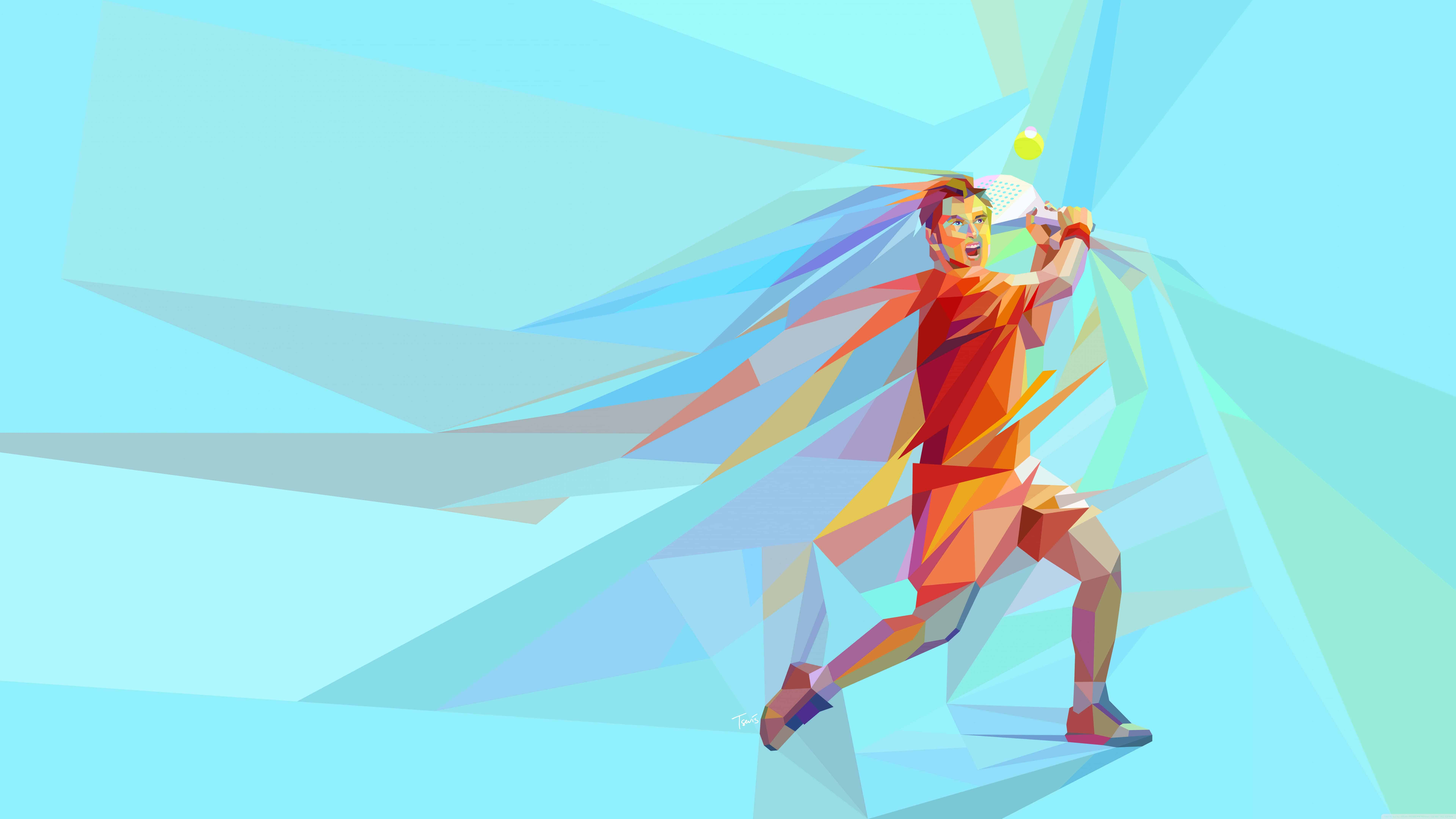 tennis player male uhd 8k wallpaper