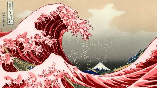 the great wave off kanagawa the great wave wqhd 1440p wallpaper