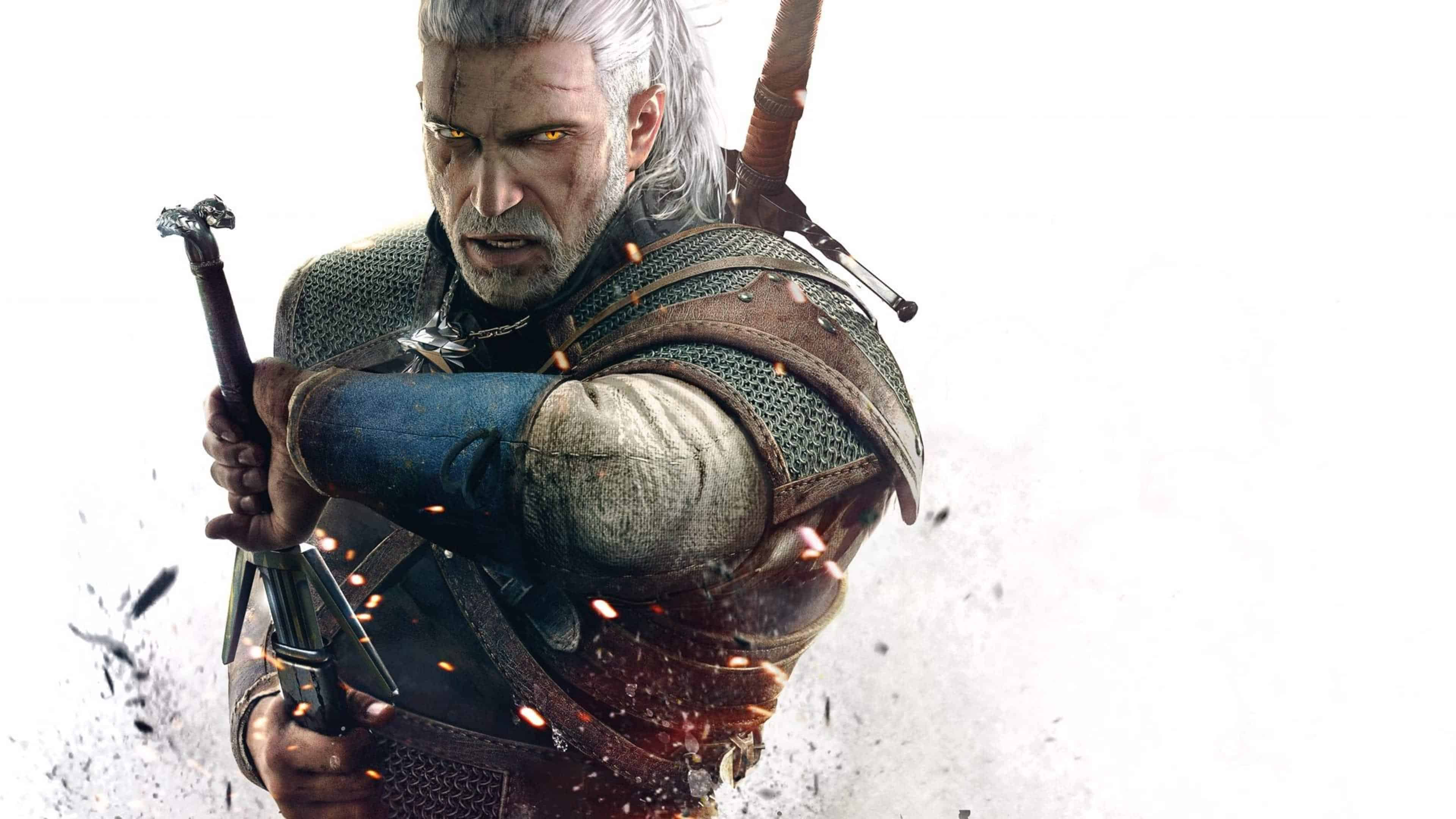 the witcher 3 wild hunt geralt uhd 4k wallpaper