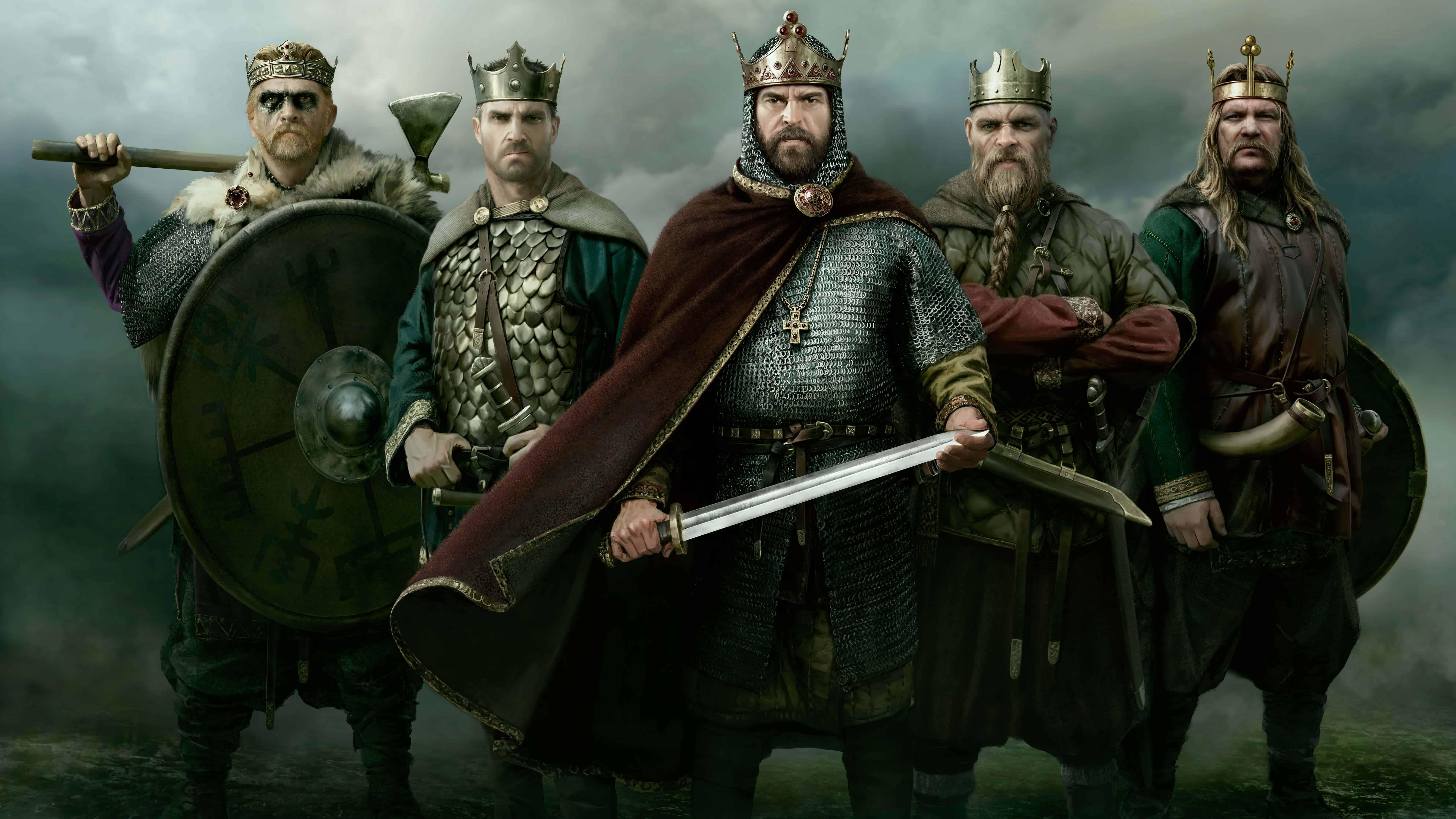 total war saga thrones of britannia uhd 8k wallpaper