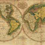 american vintage world map uhd 4k wallpaper