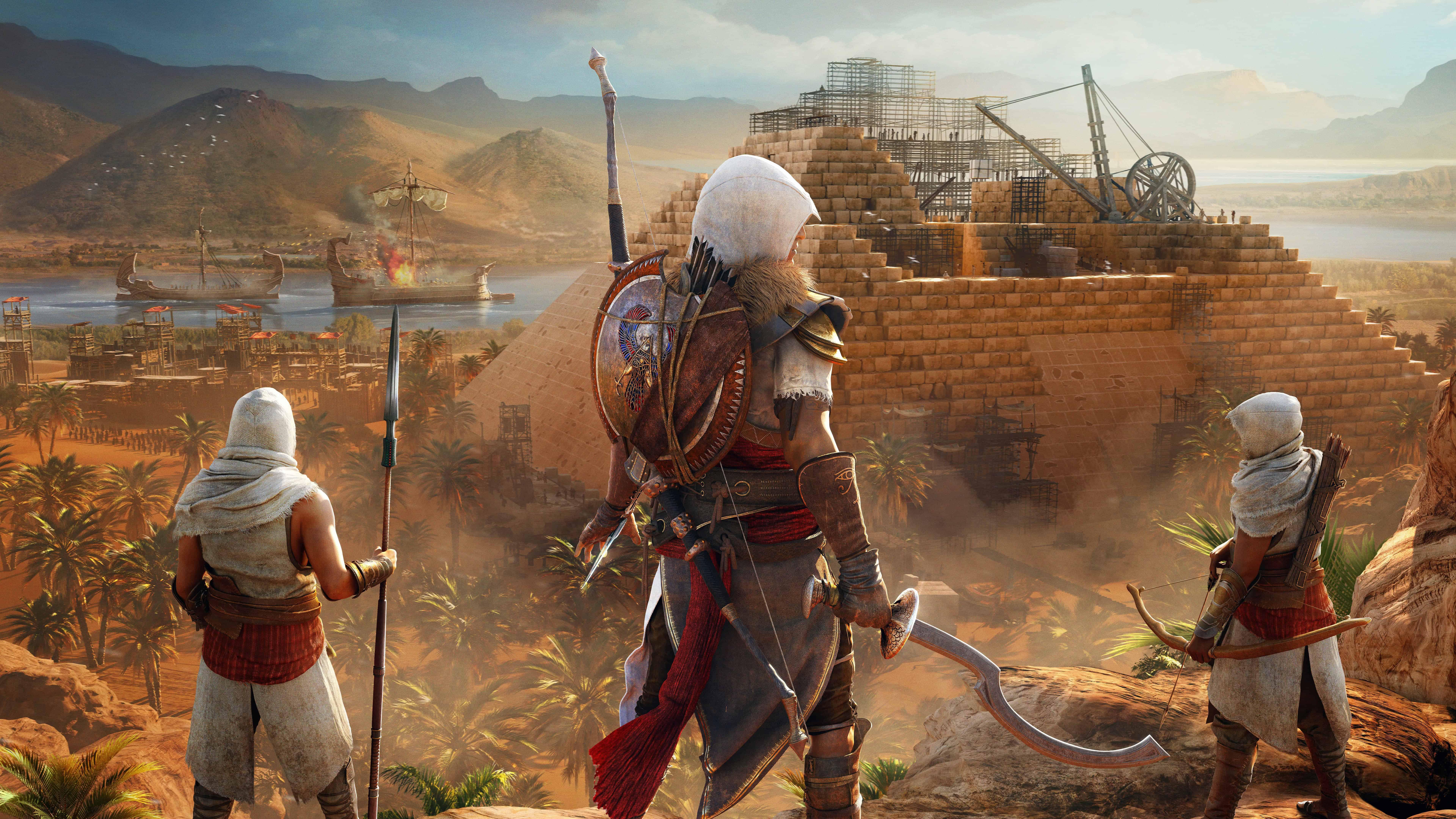 assassins creed origins the hidden ones dlc uhd 8k wallpaper